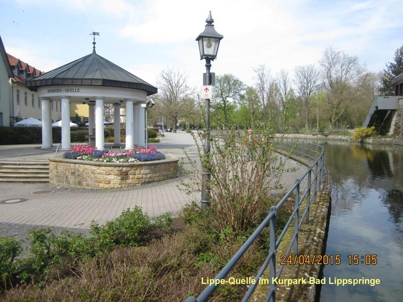 Bad Lippspringe - Lippe-Quelle