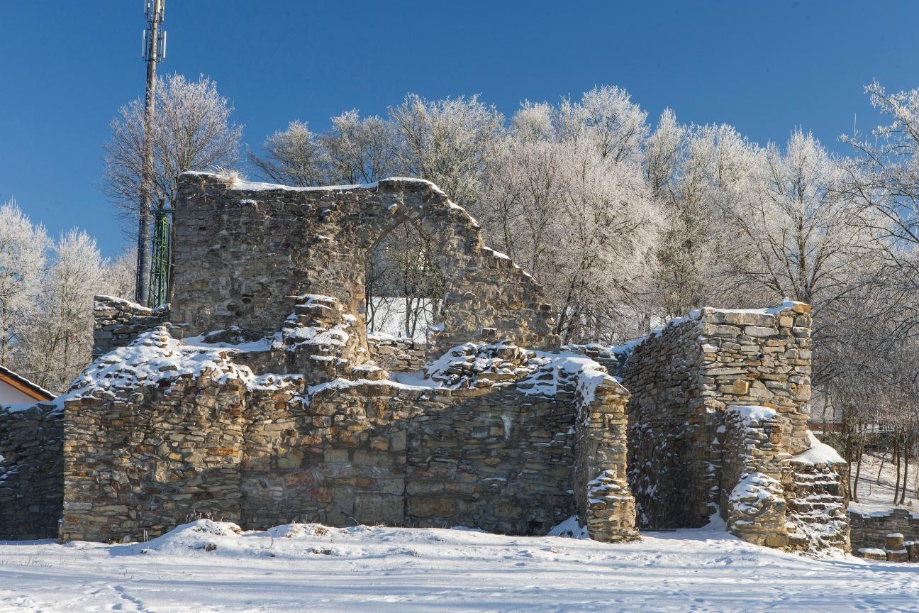 Die Burgruine Ringelstein befindet sich im Aufbau
