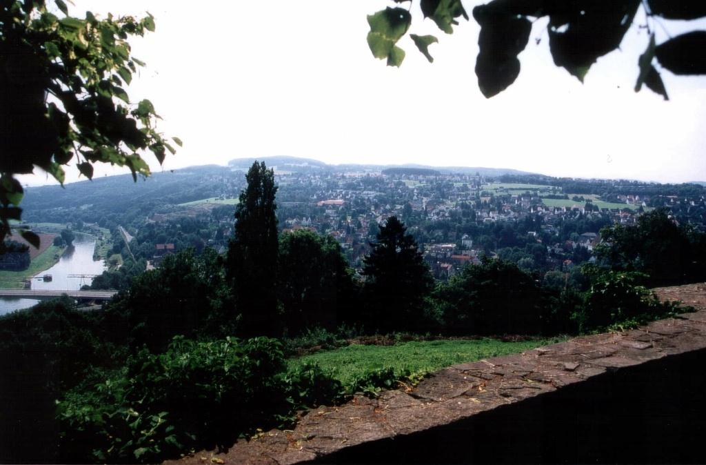 Ausblick von der Burg Vlotho