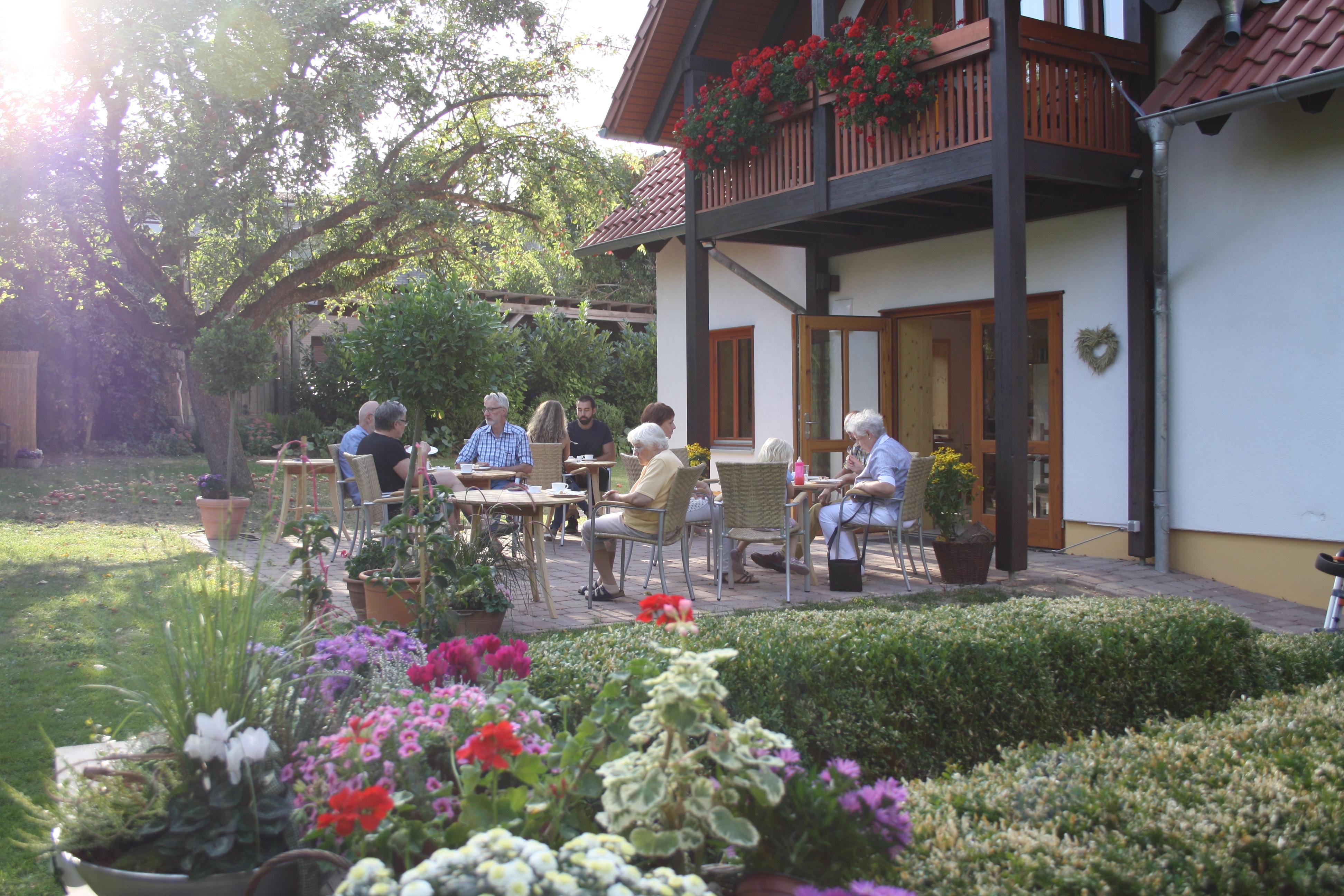 Schmidts Café Garten