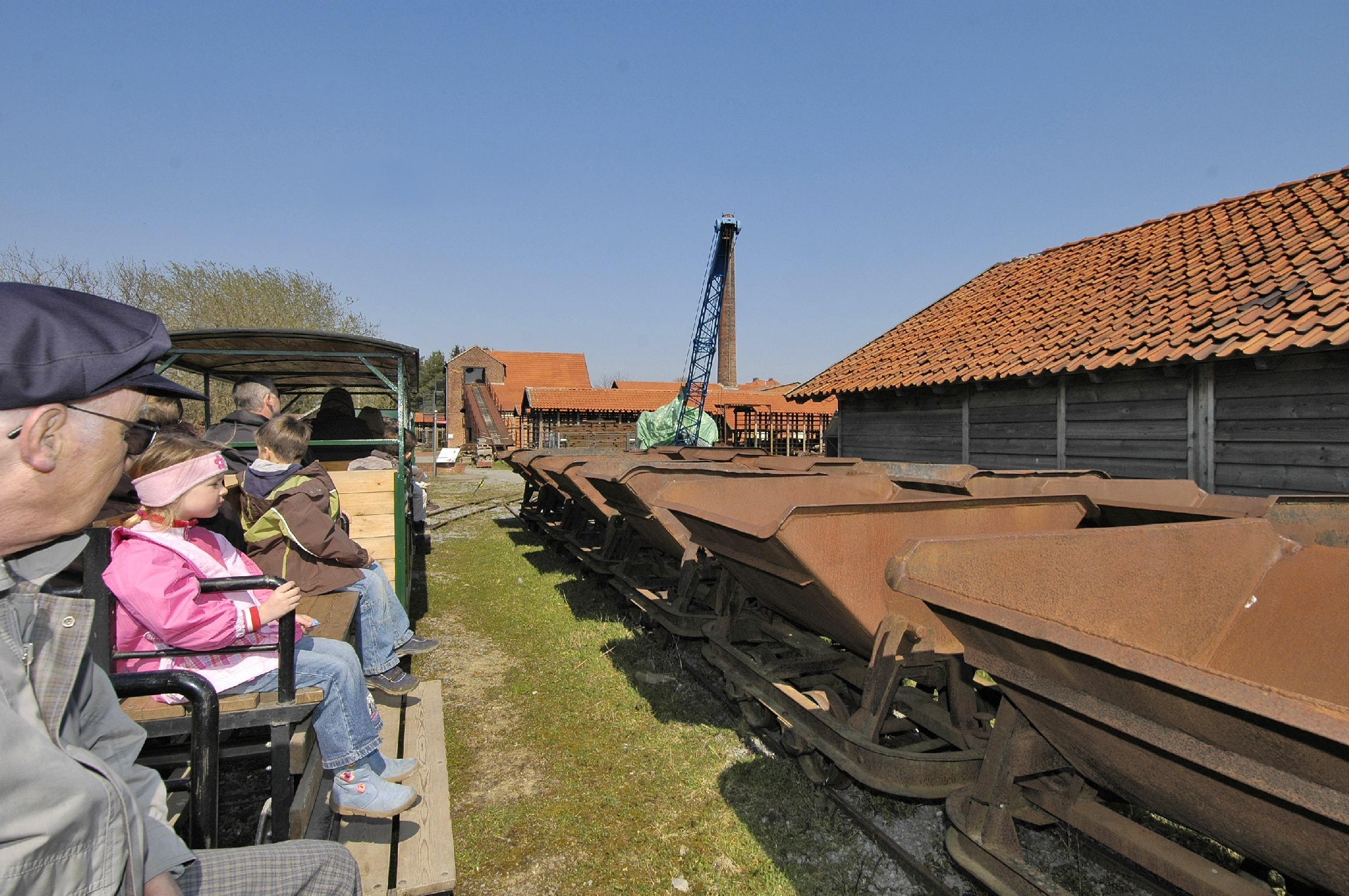 LWL-Industriemuseum Lage: Feldbahnfahrt für Besucher