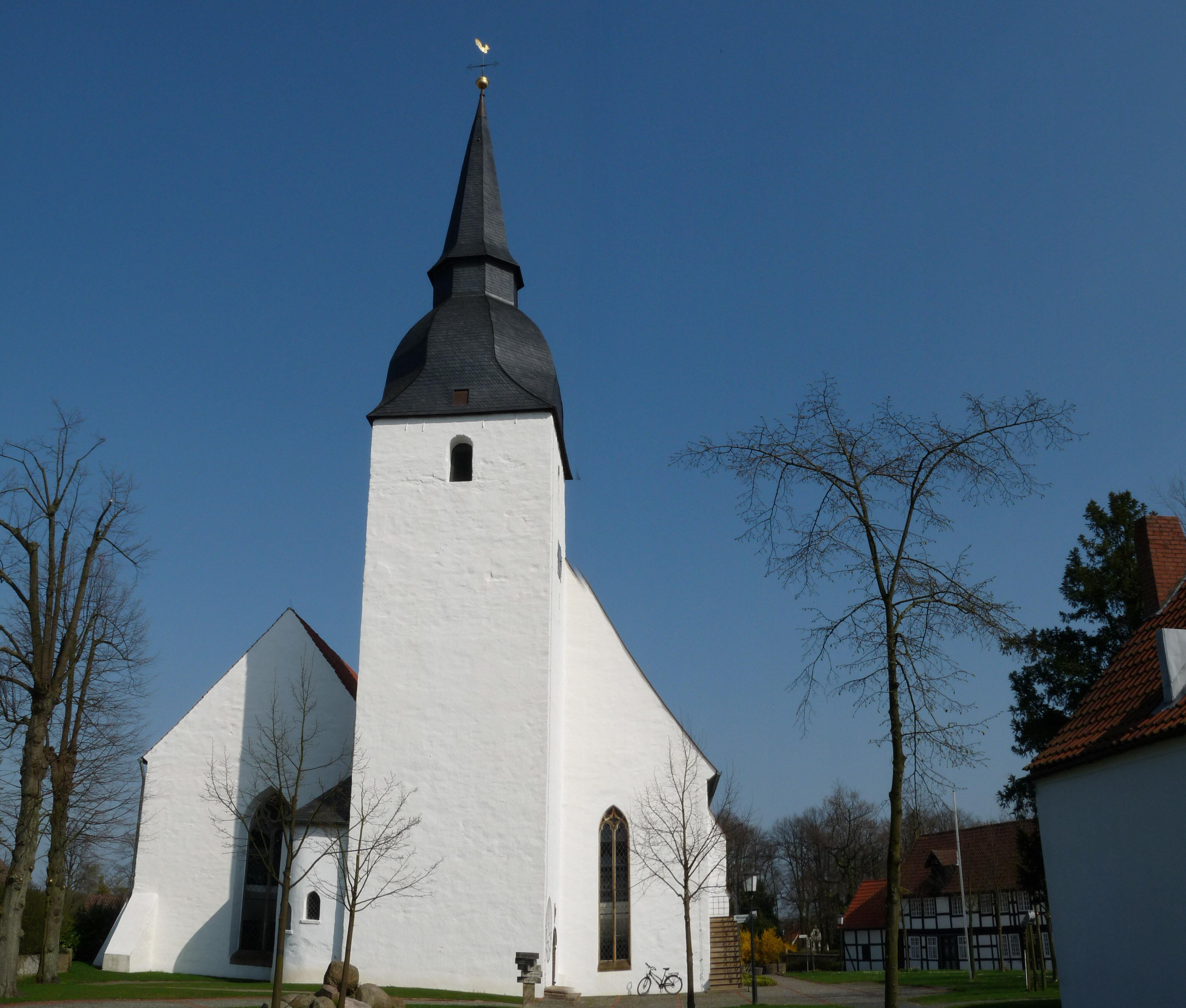 Stiftskirche Levern Westgiebel