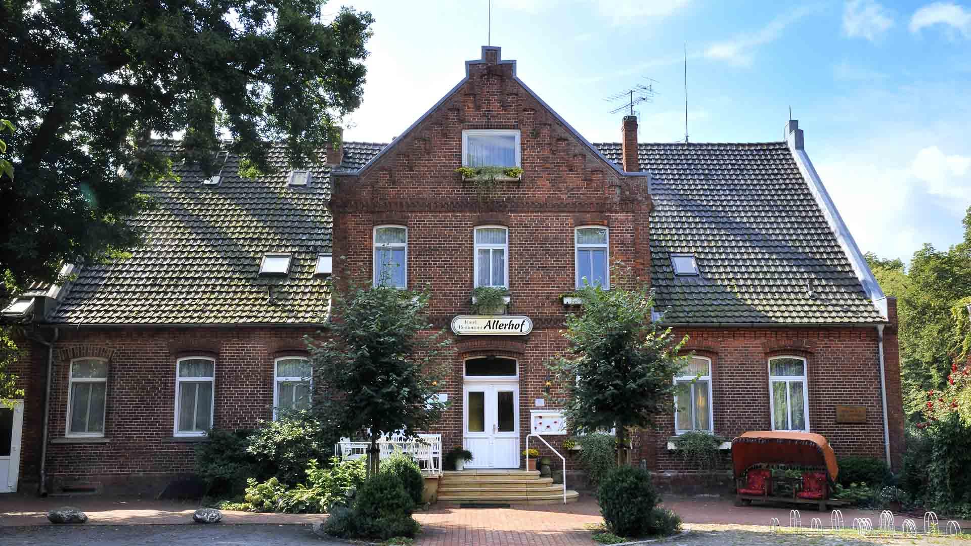 Hotel Allerhof, Eingang