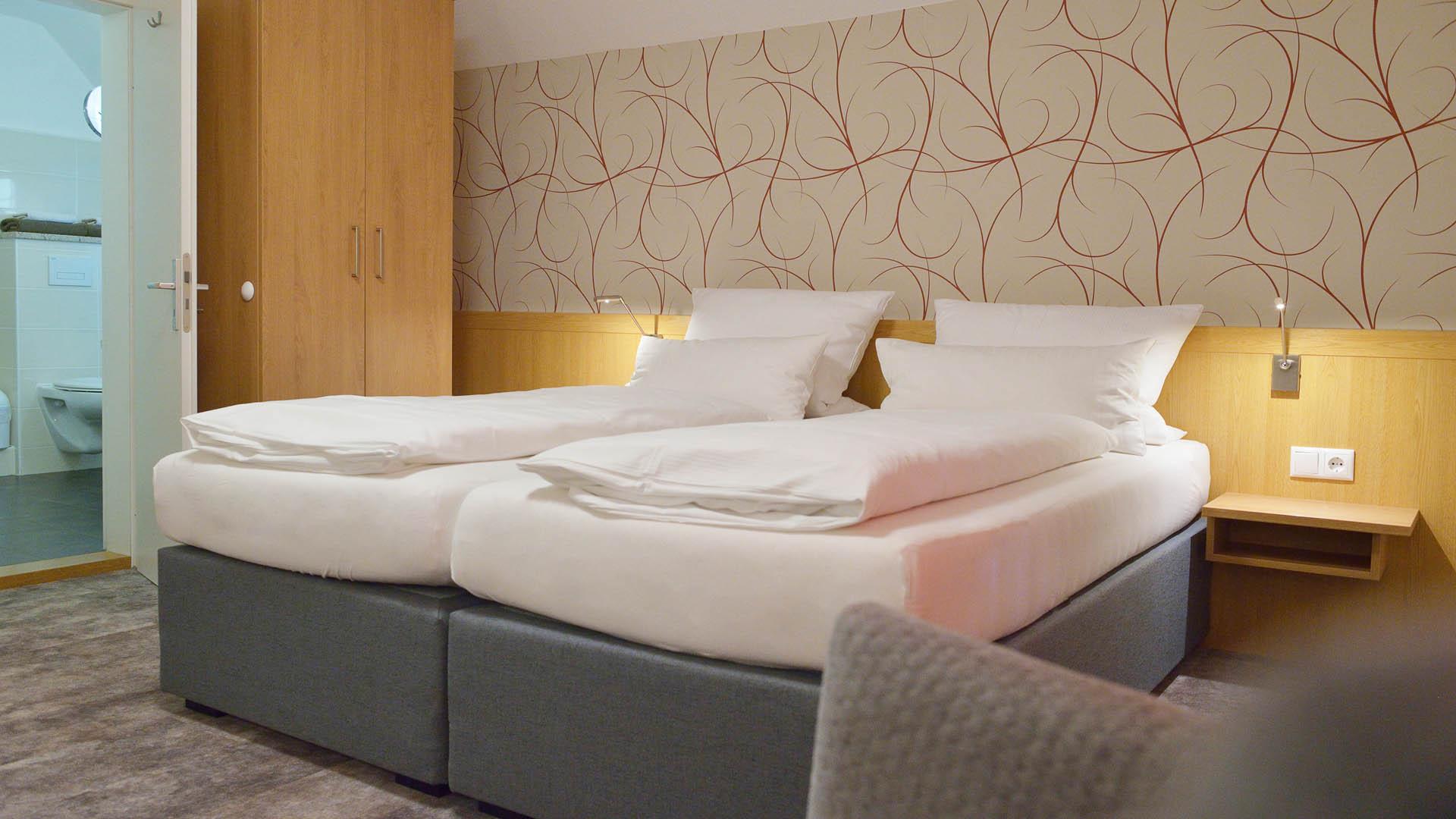 Hotel Allerhof, Zimmer