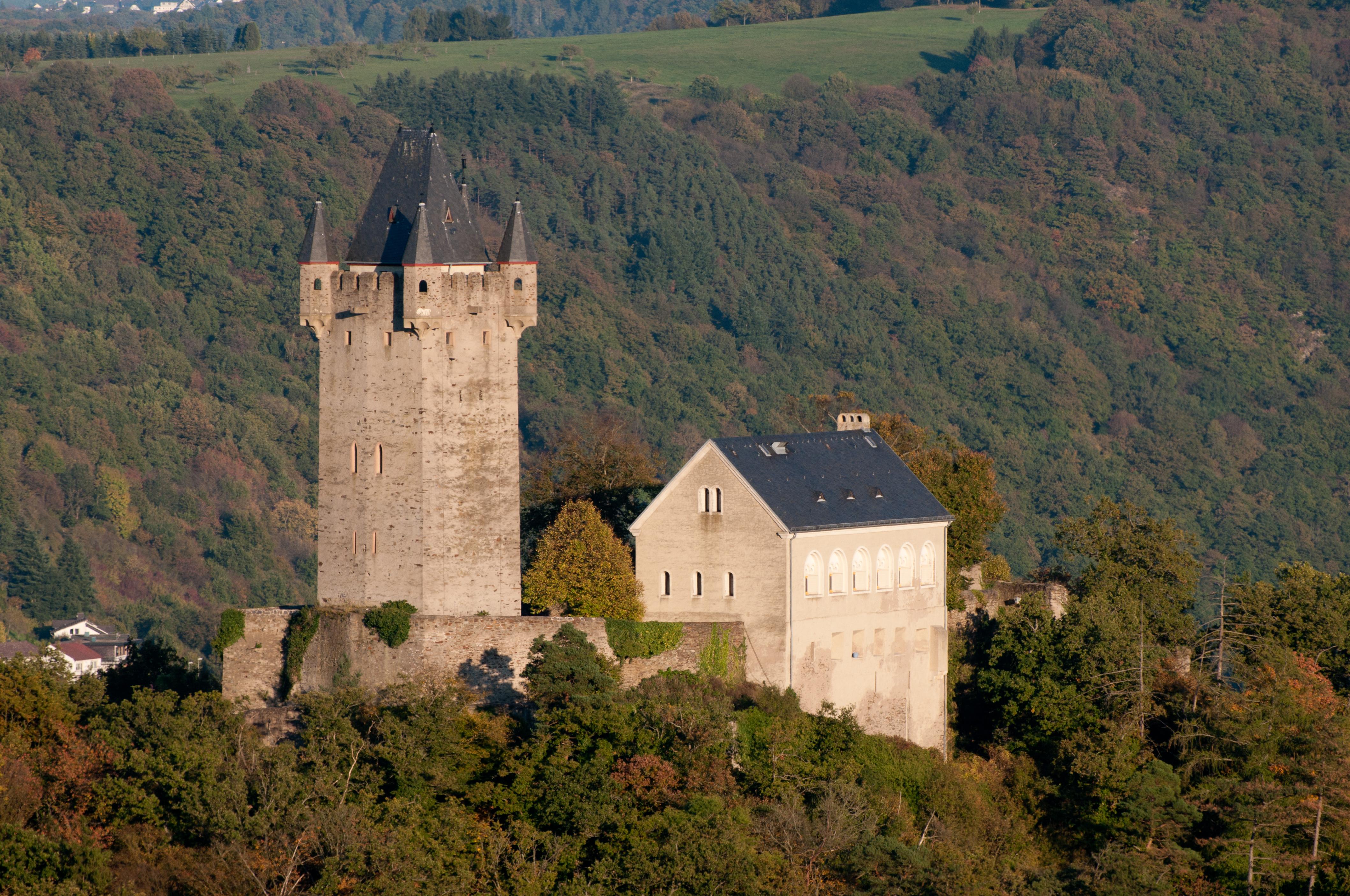 Burg Nassau Gesamtansicht