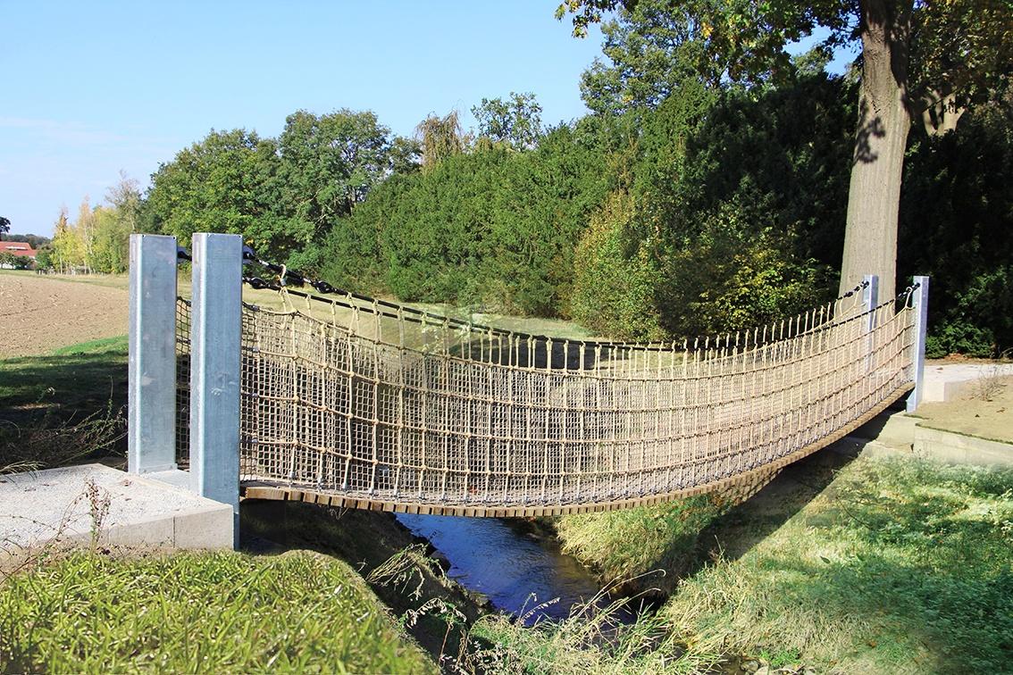 Hängebrücke Rundwanderweg Benkhausen