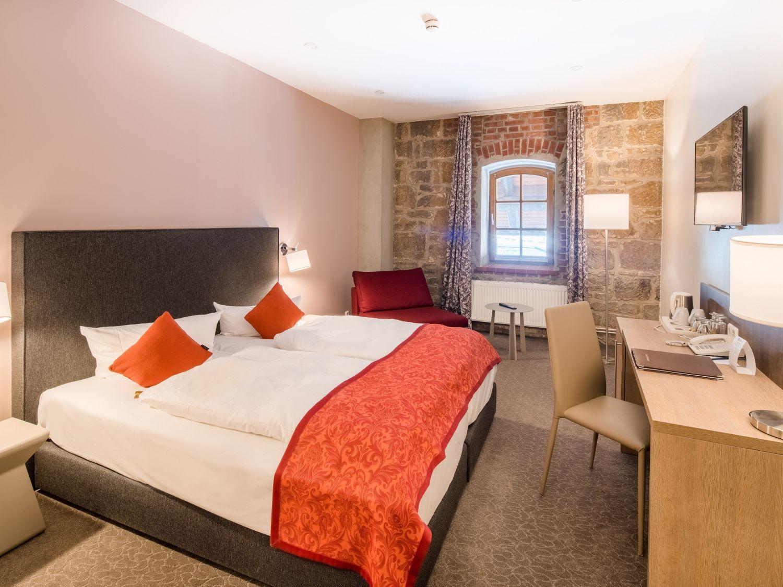 BEST WESTERN Hotel Schlossmühle in Quedlinburg - Standard -Doppelzimmer - Speicher