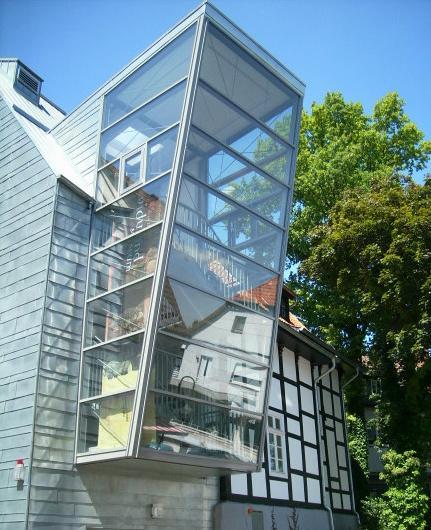 Widukind Museum Enger: Treppenhausanbau