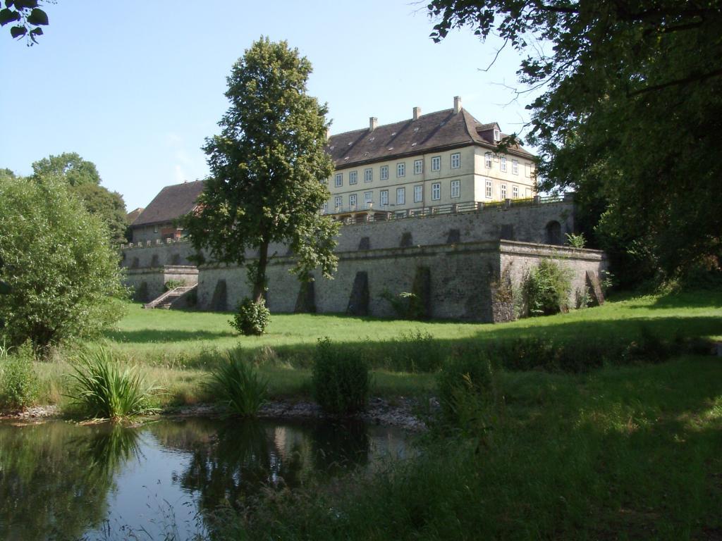 Vörden, Schlosspark