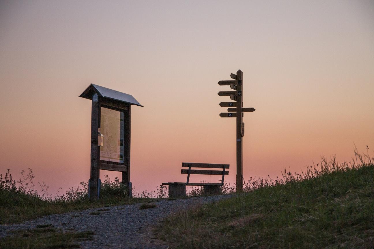 Sonnenaufgang am Köterberg