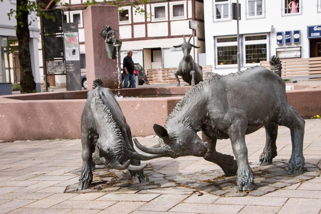 Ziegenbrunnen