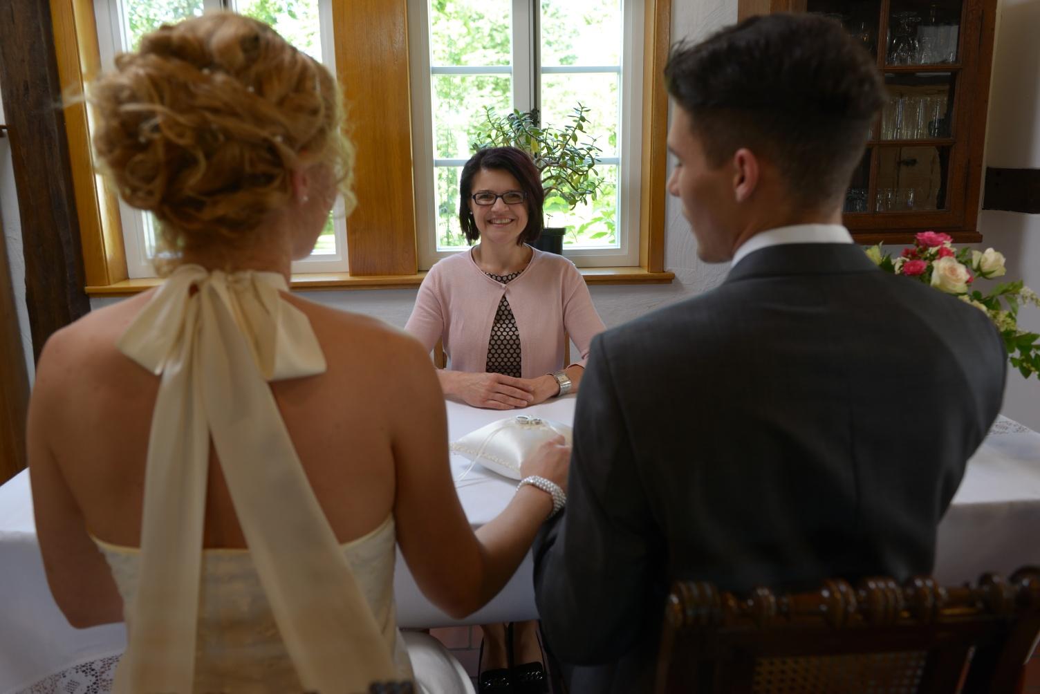 Eheschließung im Bockhorster Kotten