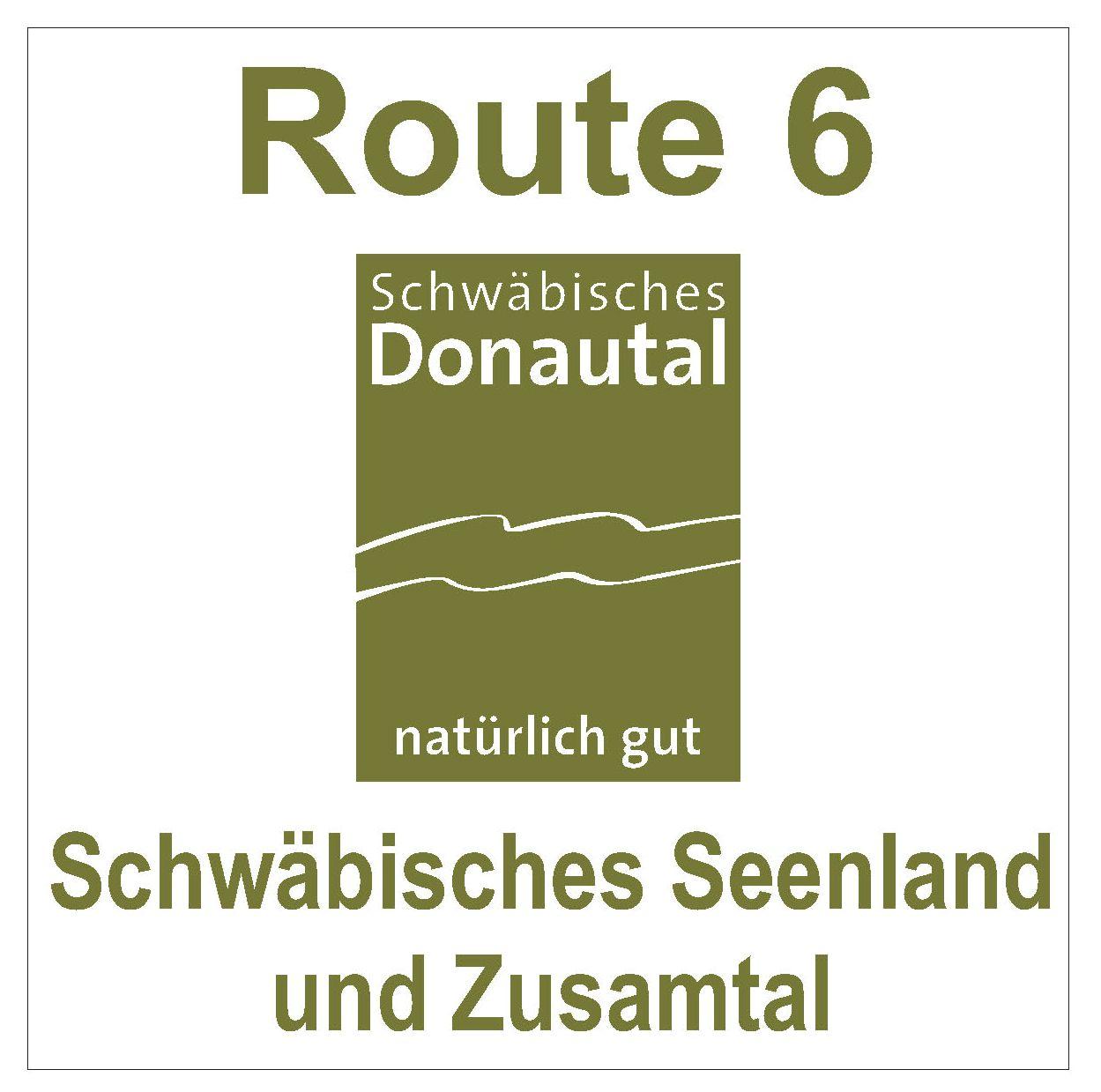 Wegmarkierung Schwäbisches Seenland