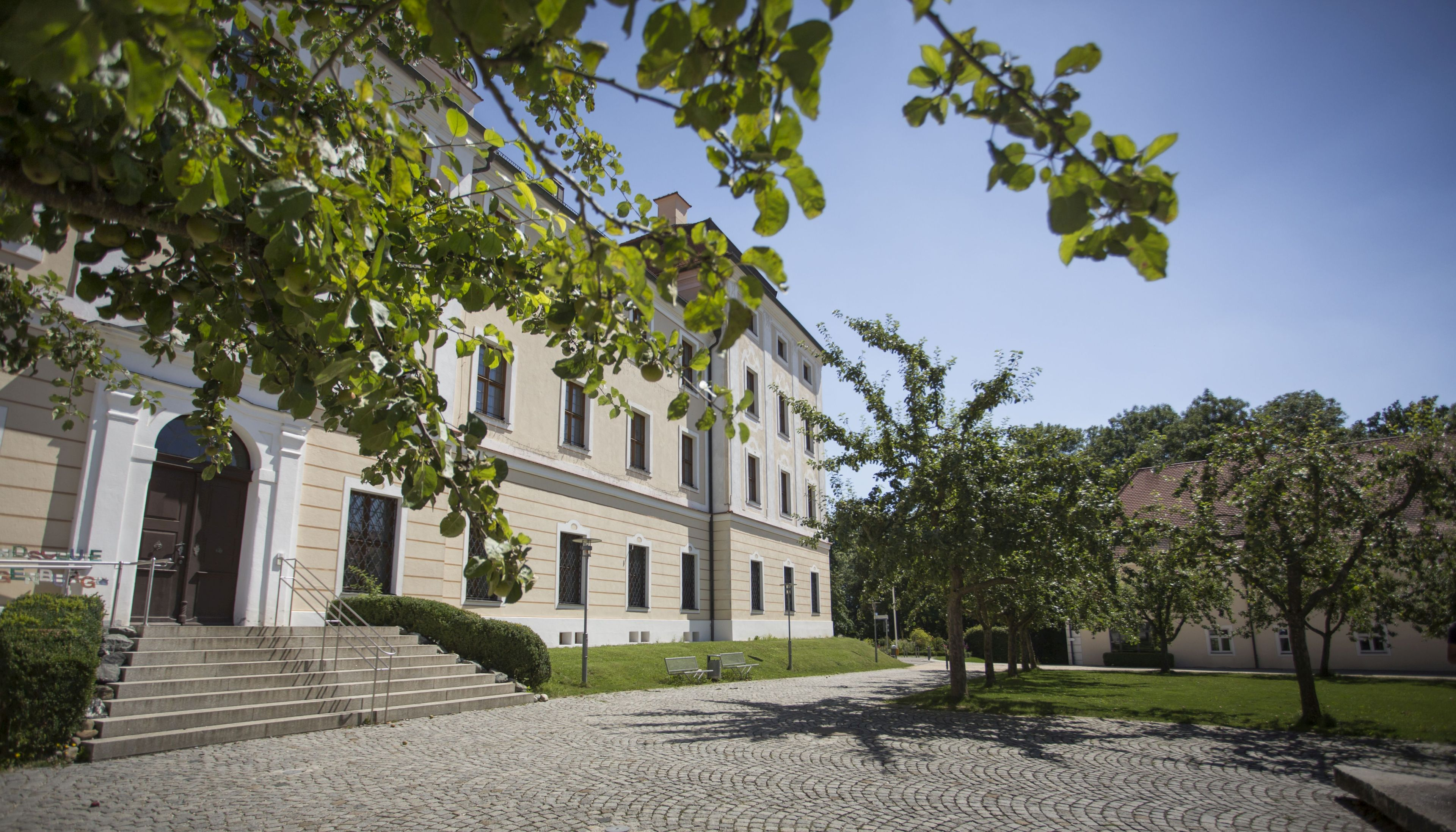Prälatenhof im Kloster Roggenburg