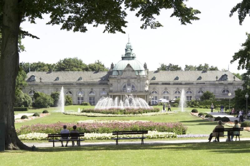 Das Kaiserpalais im Kurpark