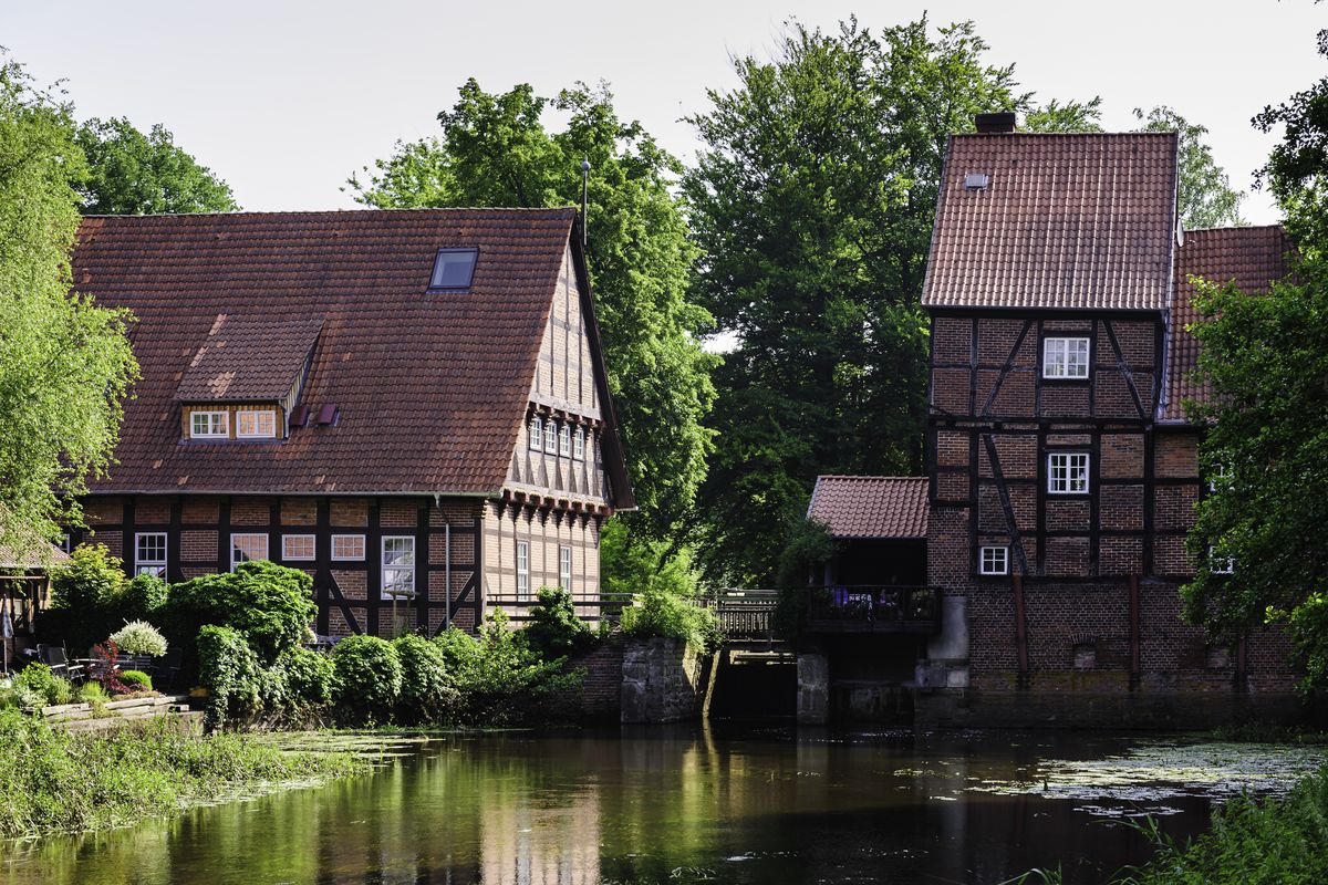 Historischer Ortskern in Wienhausen