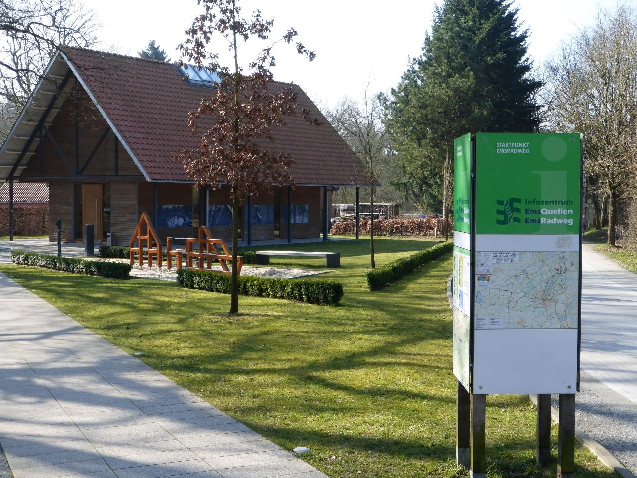 Info-Zentrum Emsquellen und Ems-Radweg