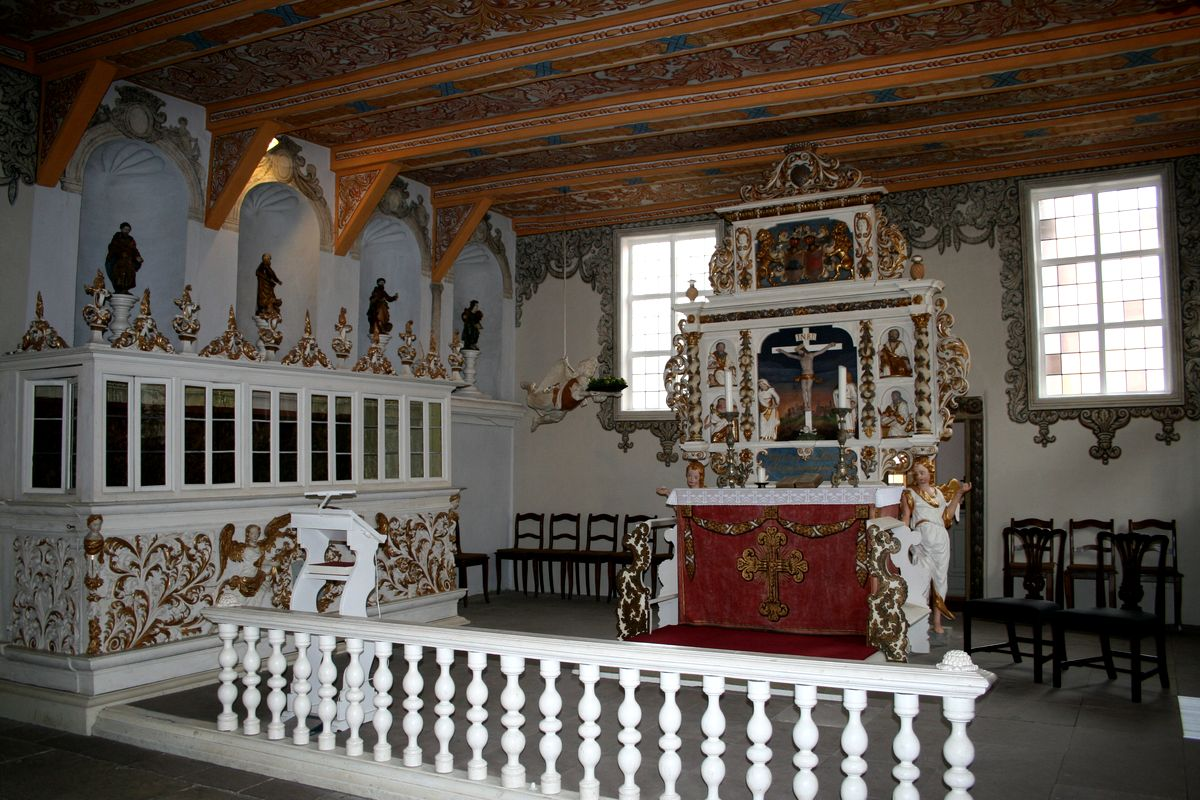 Stechinelli-Kapelle in Wieckenberg