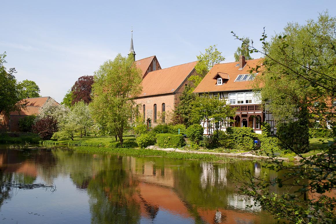 Kloster und St. Marien-Kirche Südseite