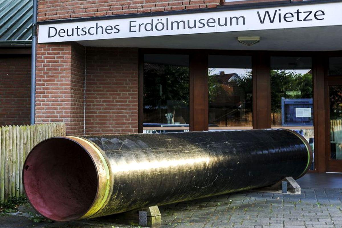 Eingang Erdölmuseum