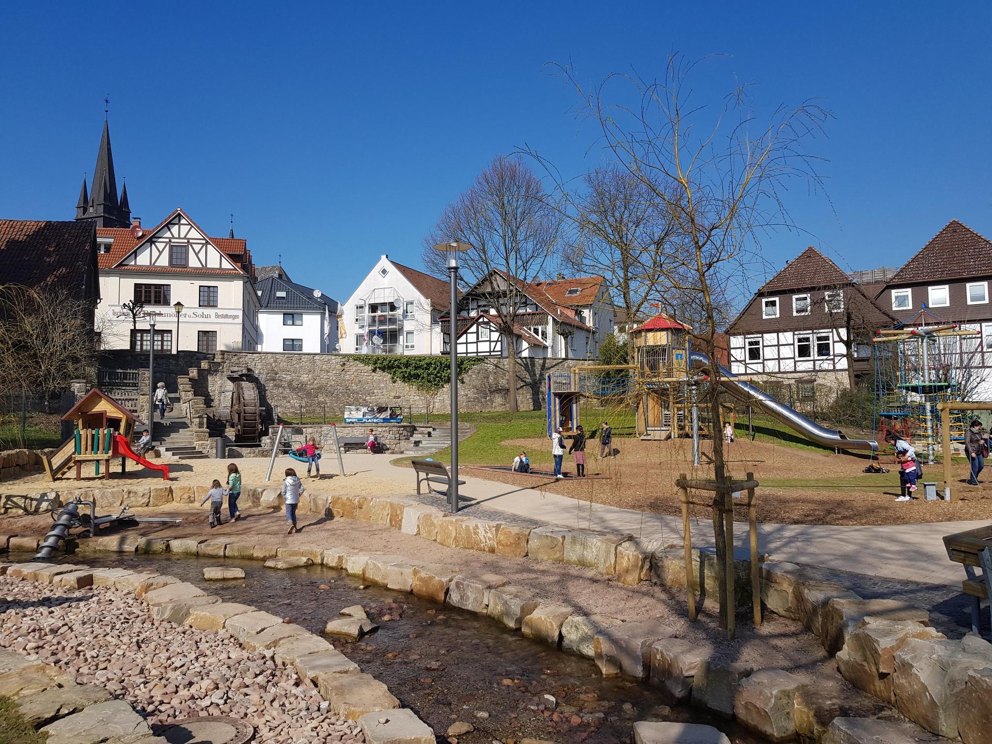 Bad Driburg - Abenteuerspielplatz am Mühlrad