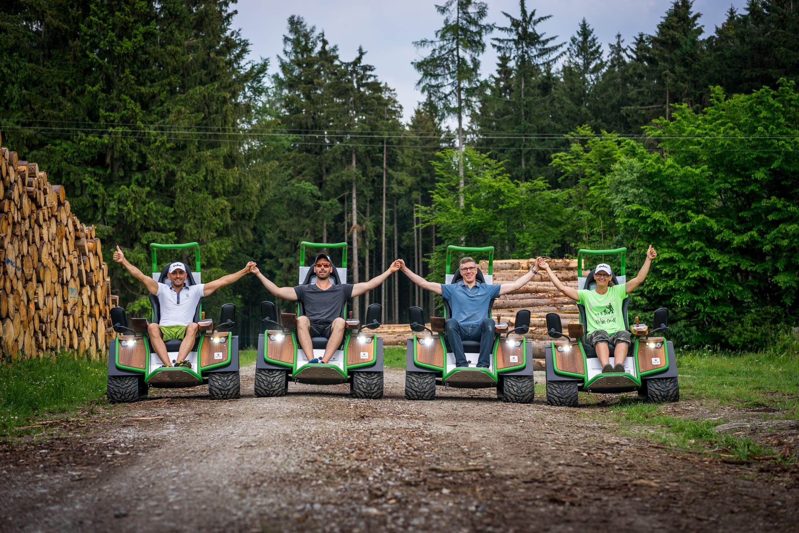 CRUDE Harz - geführte Touren durch den Wald