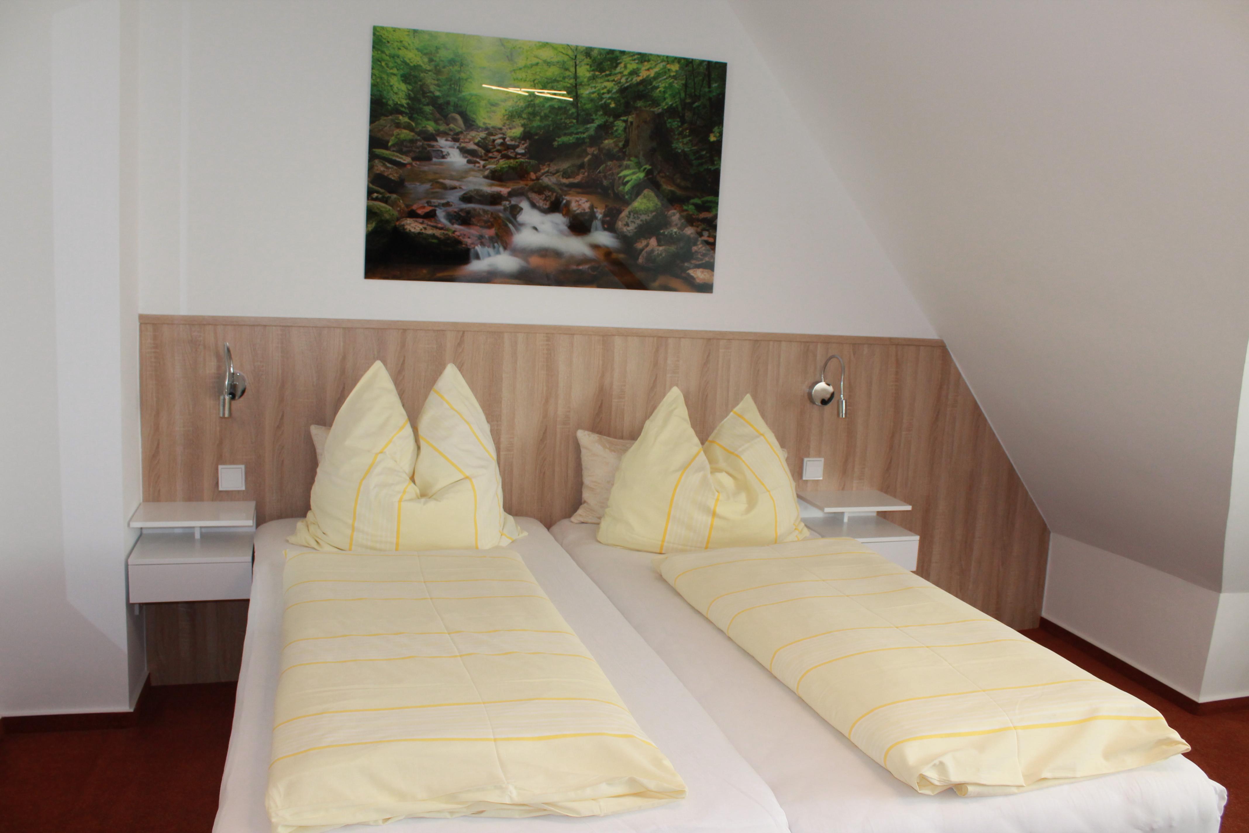 Pension Alscher in Goslar - Zimmerbeispiel