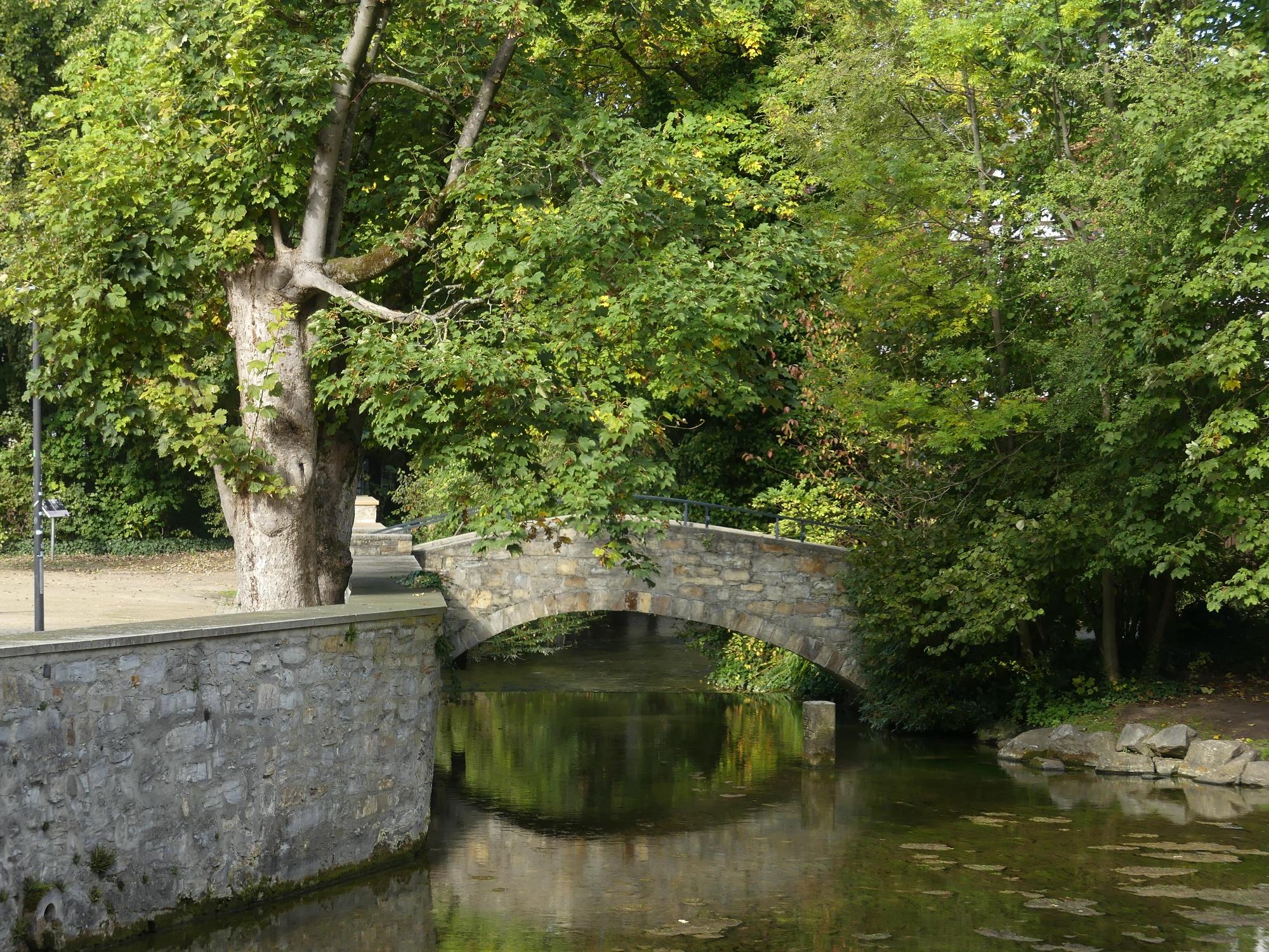 Brücke über die Dielenpader