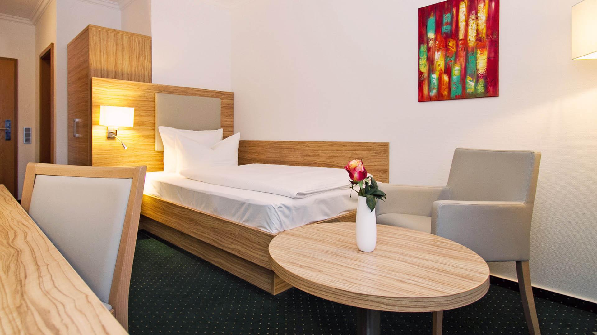 Hotel Schaper, Einzelzimmer
