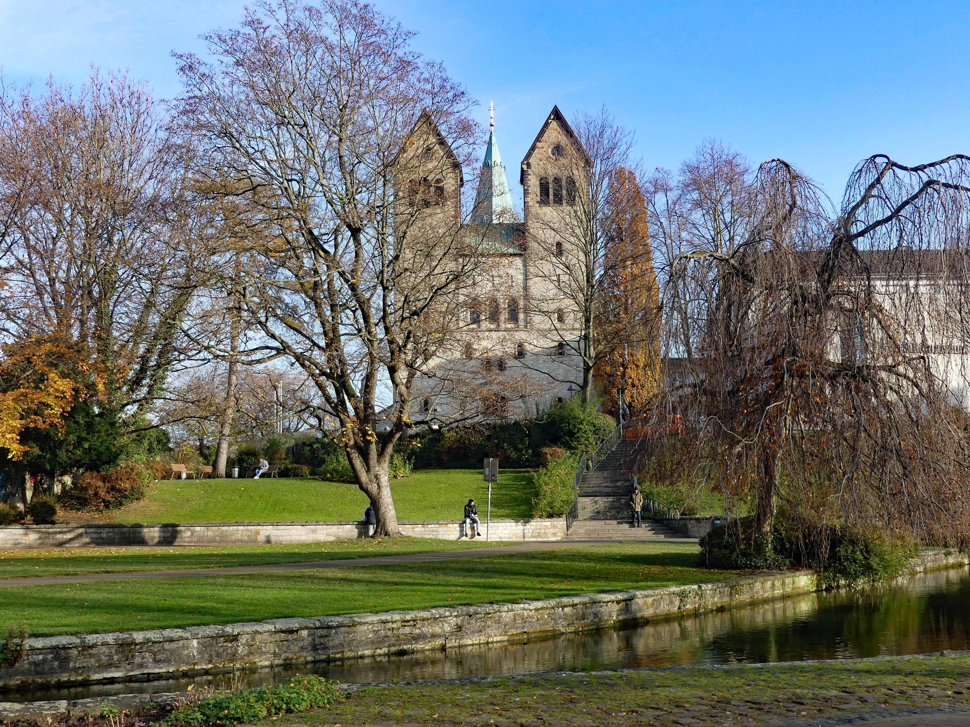Quellbecken der Börnepader und Abdinghofkirche