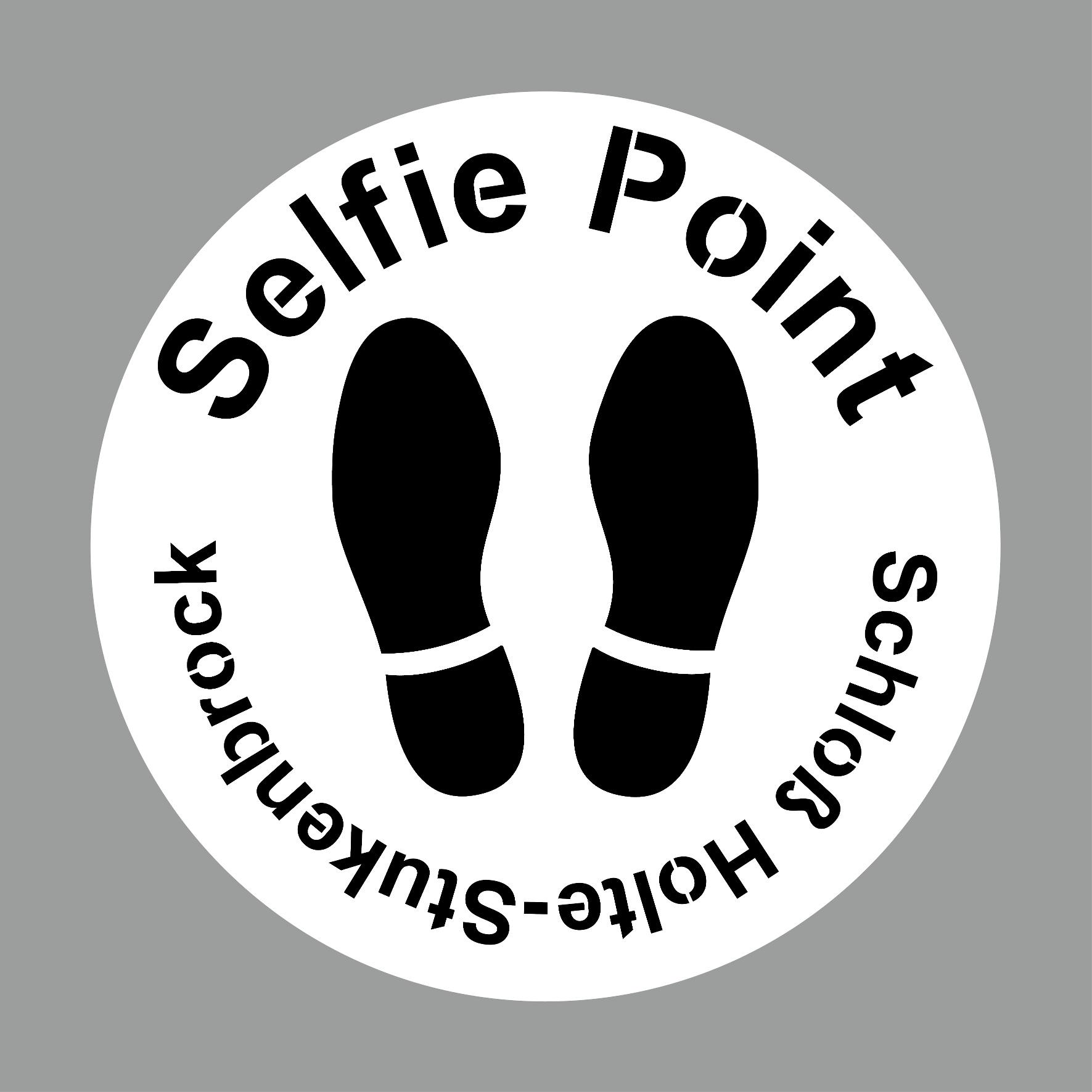 Selfie Point Schablone