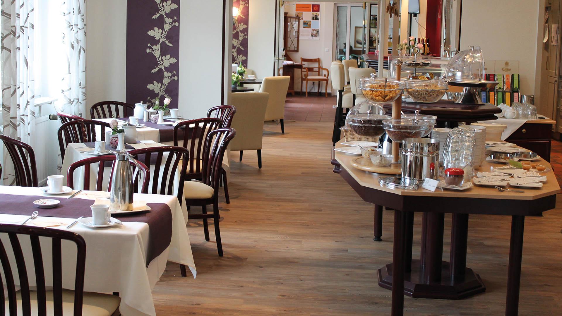 Hotel Blumlage, Frühstücksraum