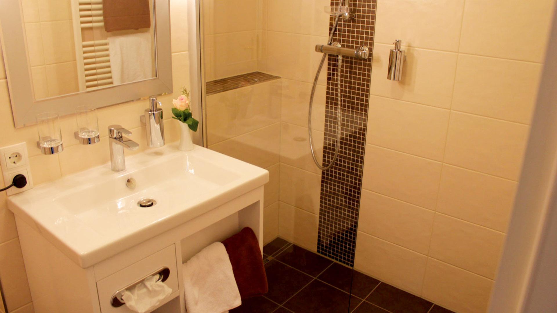 Hotel Blumlage, Badezimmer