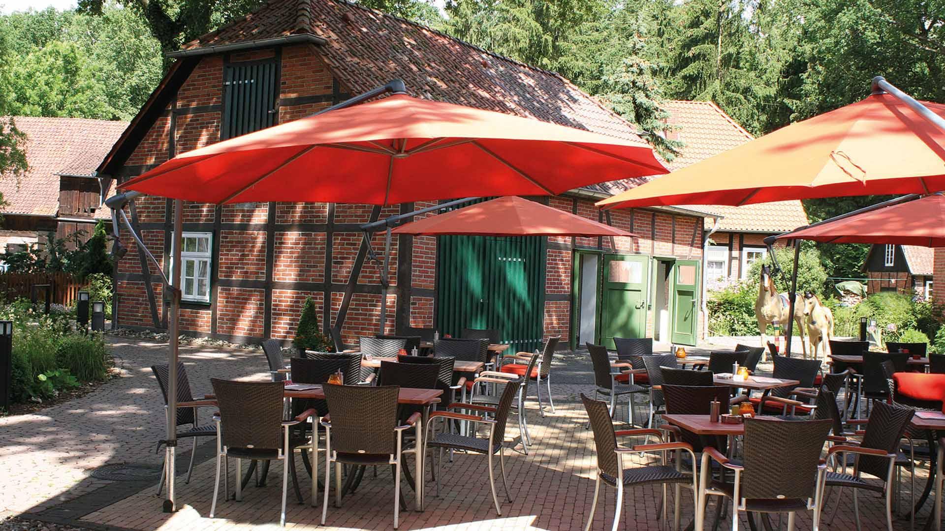 Hotel Am Kloster, Gartenterrasse