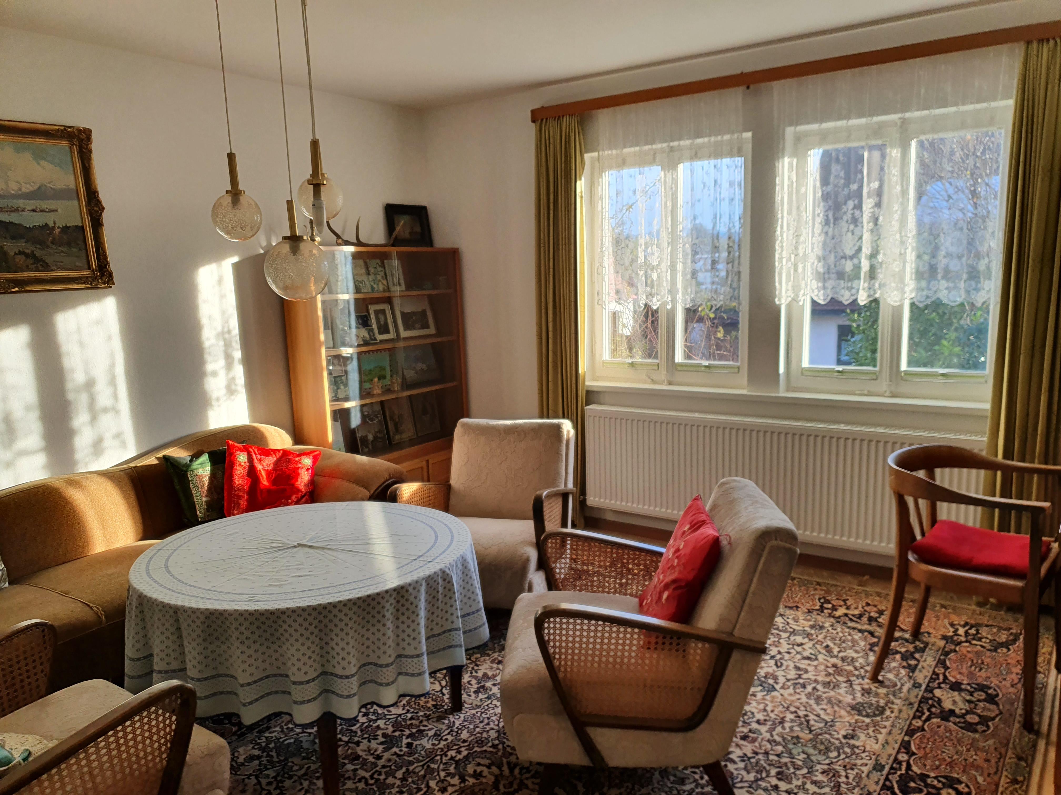 Haus Sonnenhalde, Wohnzimmer