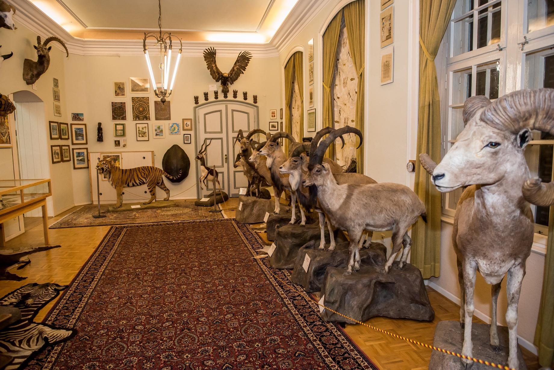 Wasserschloss Heerse - Museum für Naturkunde und Jagdkultur