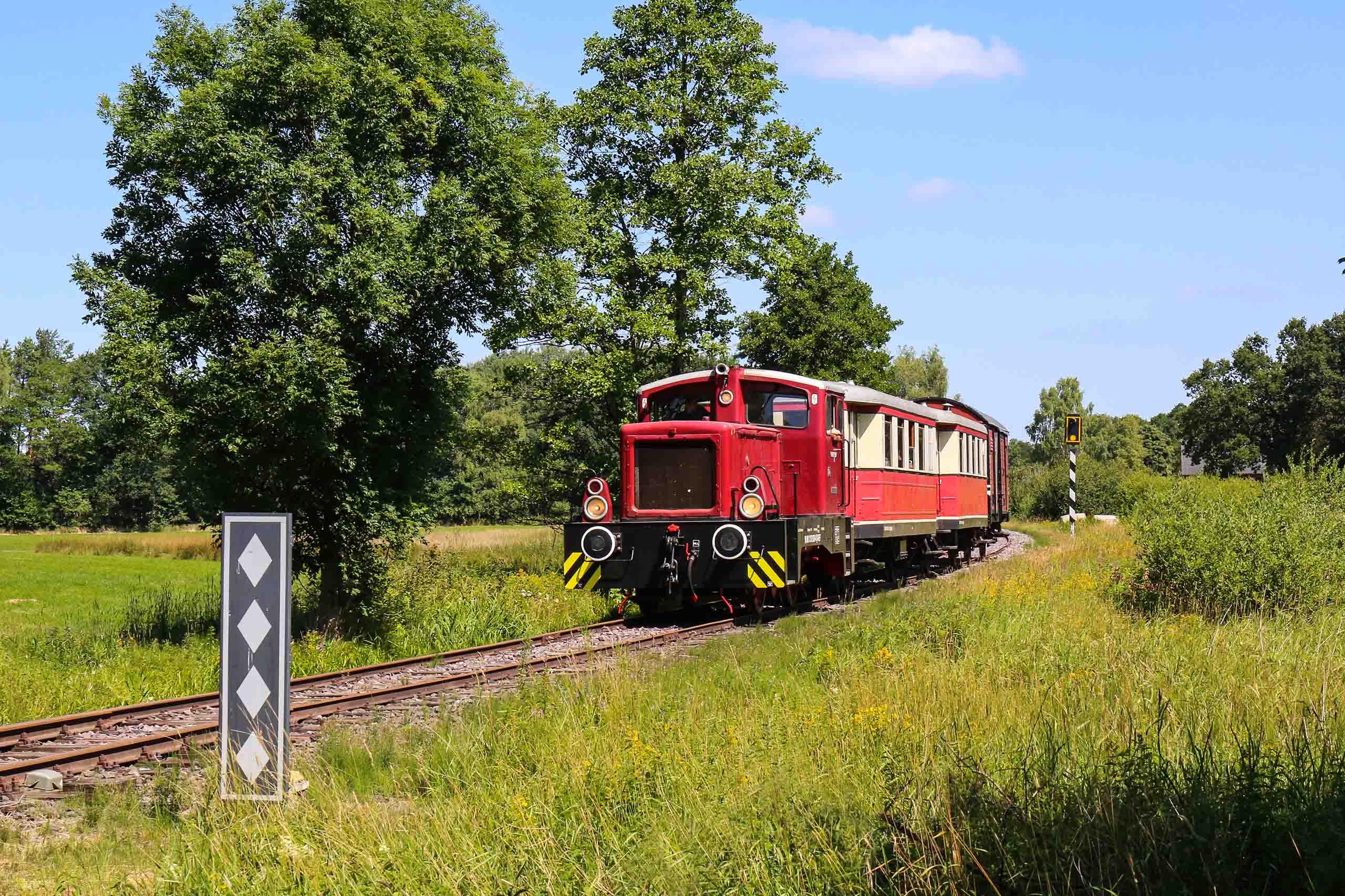 """Museumsbahn """"Kleinbahn Express"""" in Verden"""