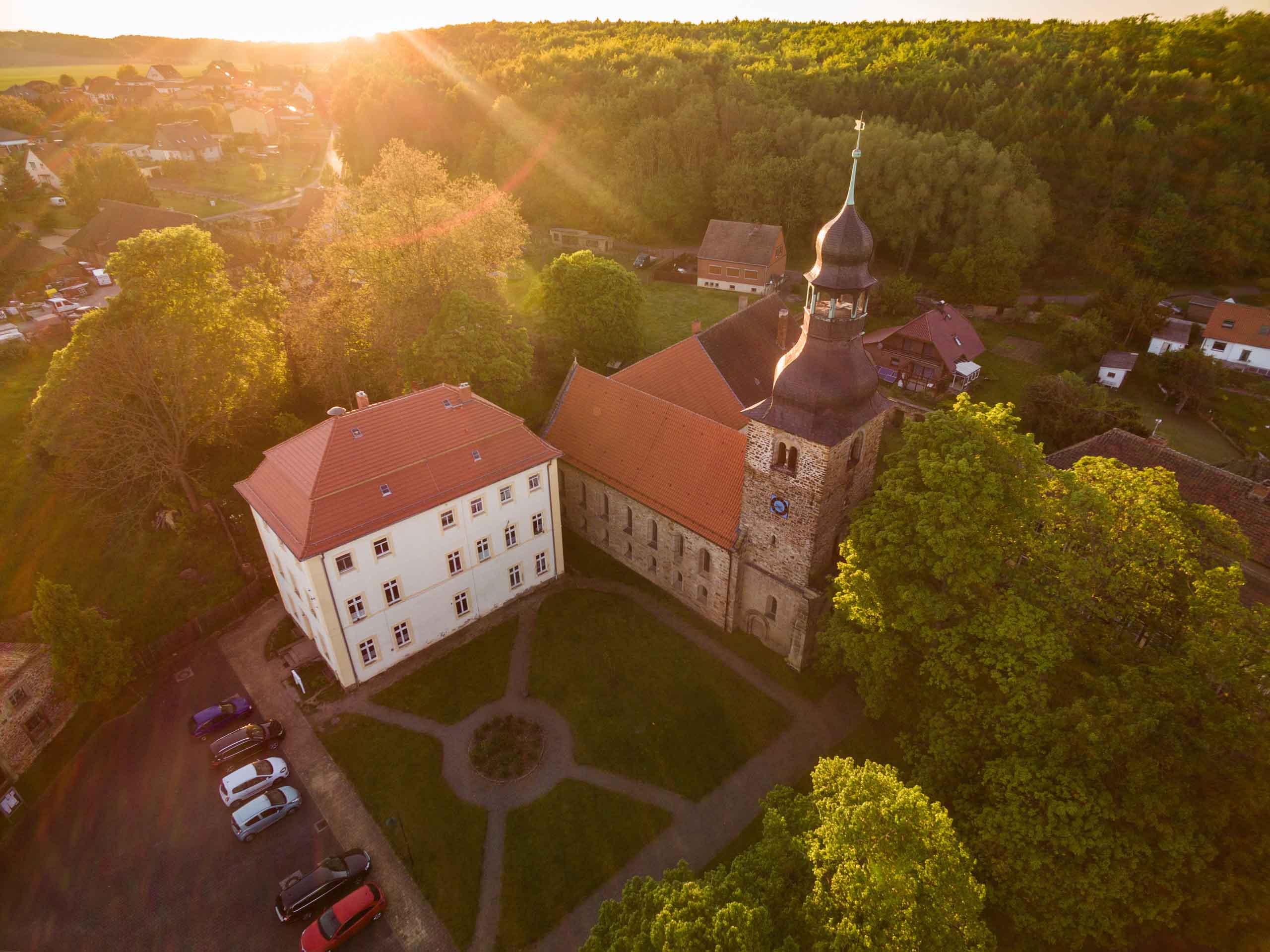 Die Klosterkirche in Marienborn