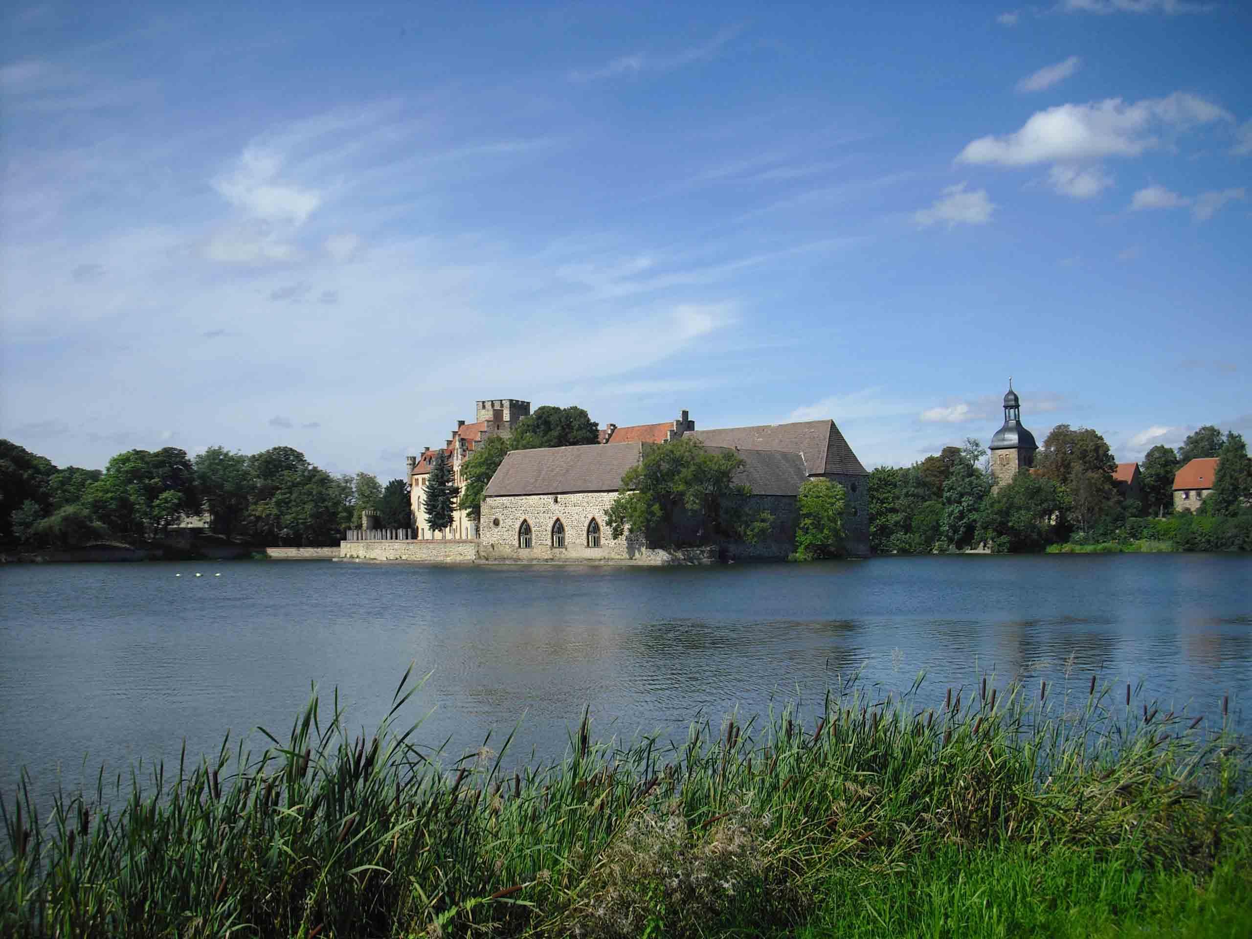 Das Wasserschloss Flechtingen
