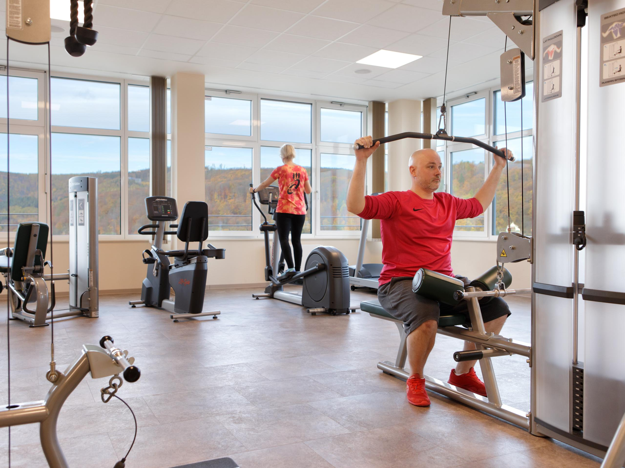 Fitnesscenter Hasseröder Burghotel Wernigerode