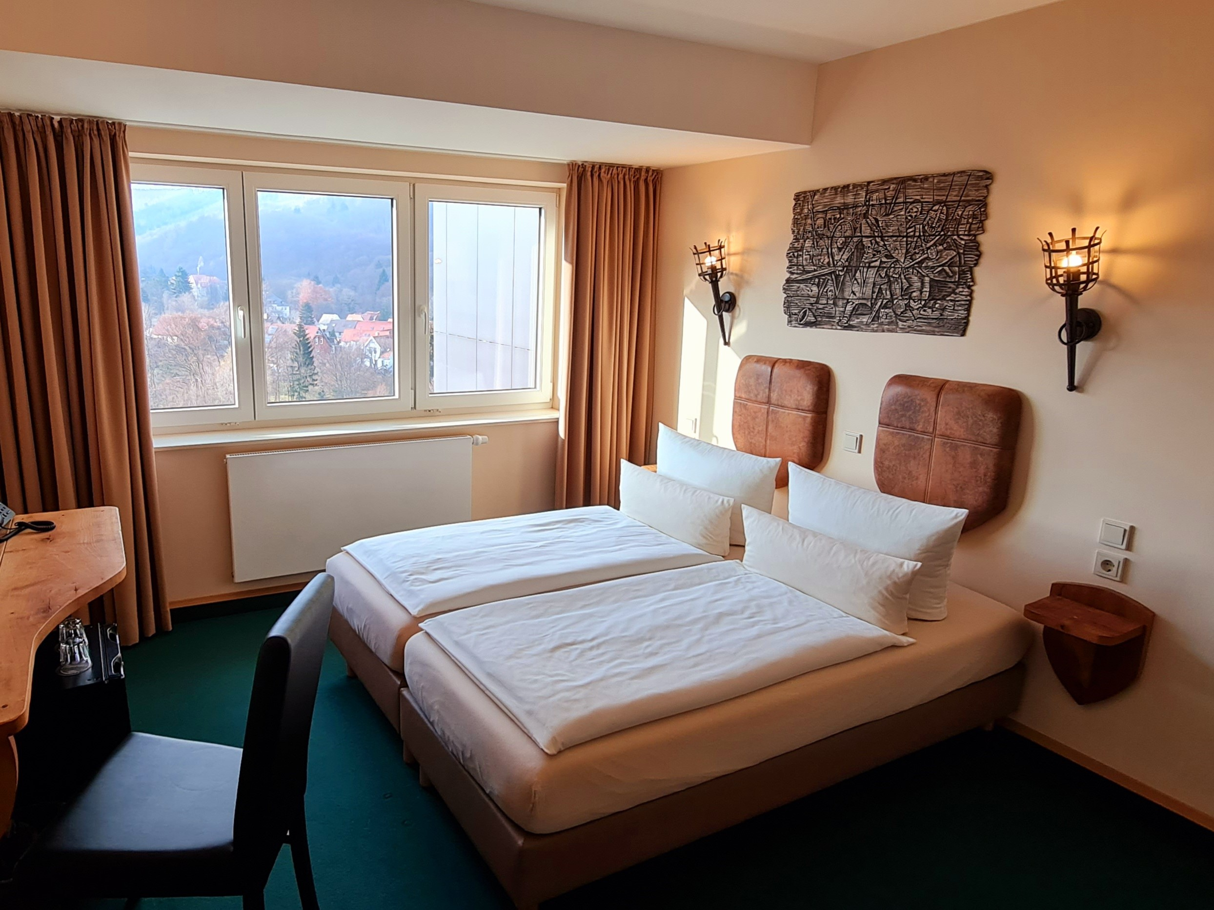 Doppelzimmer - Hasseröder Burghotel Wernigerode