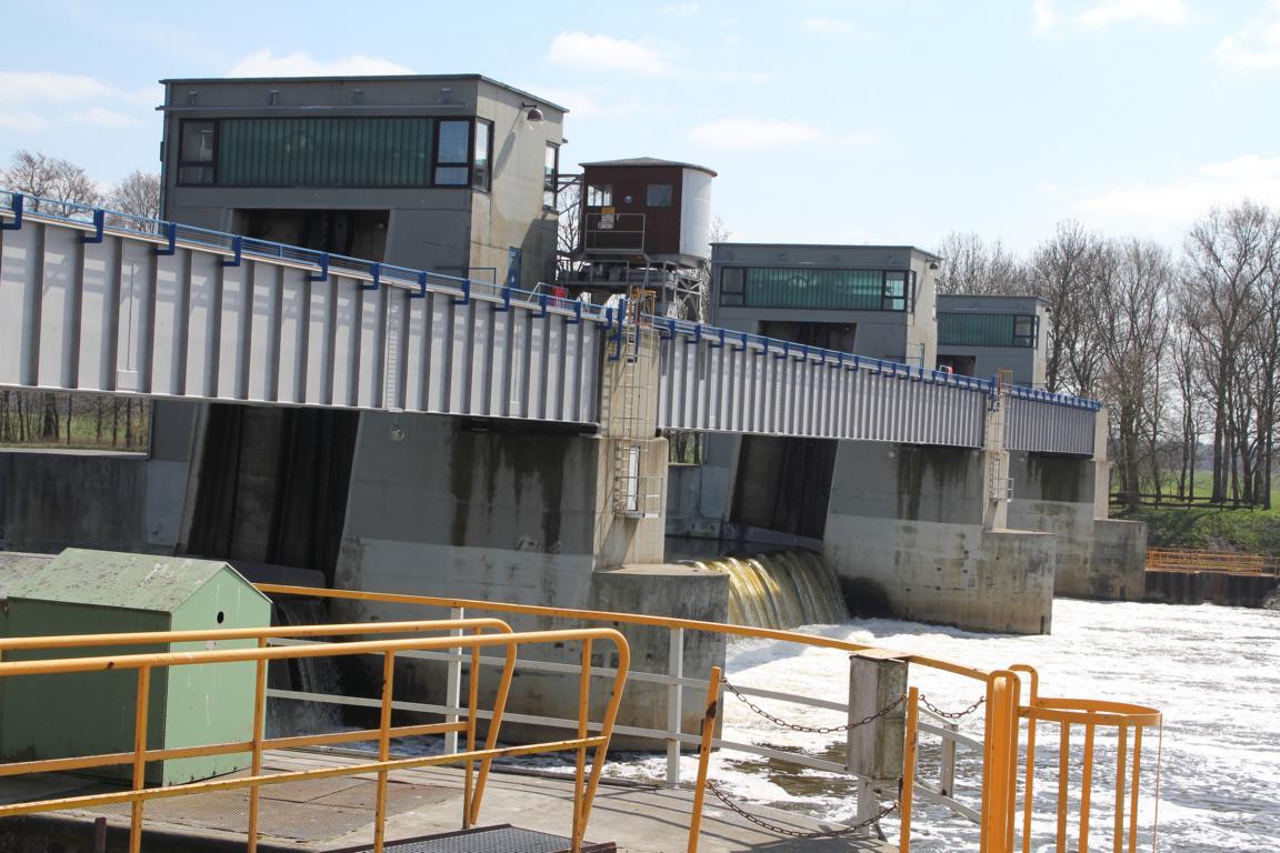 Laufwasserkraftwerk Dörverden