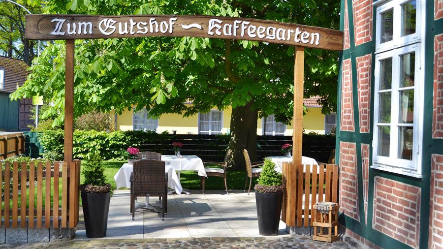 Gutshof Oppershausen, Terrasse