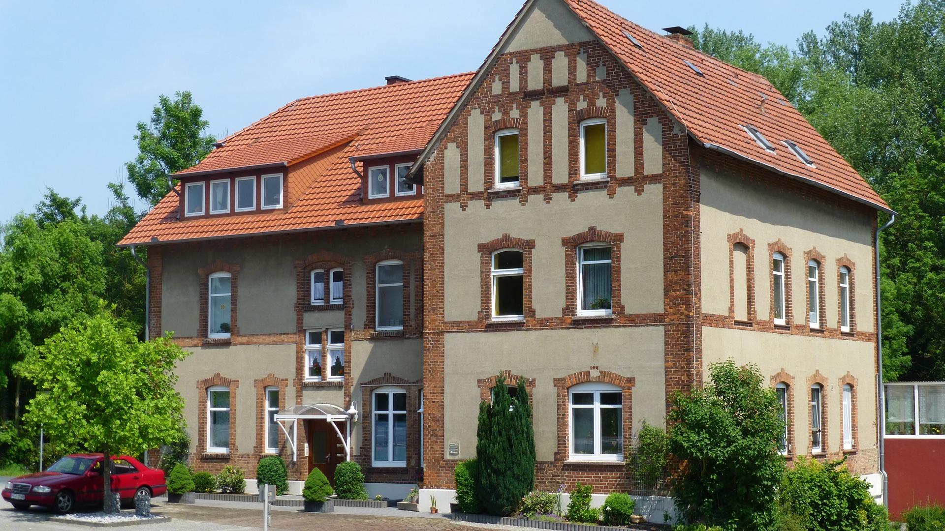 Die Hagenmühle an der ehemaligen Kleinbahnstraße