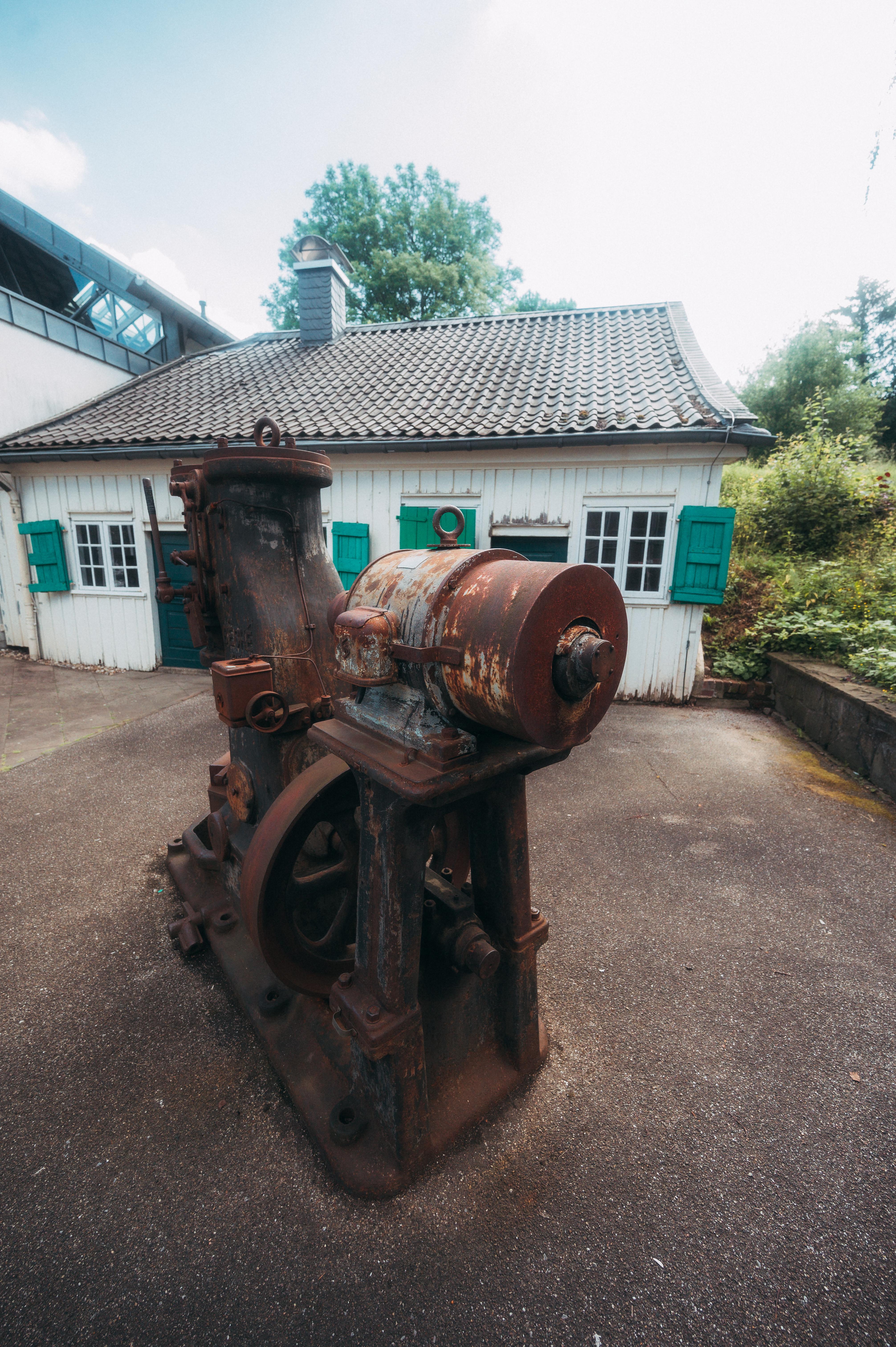 Hof des Werkzeugmuseums in Remscheid