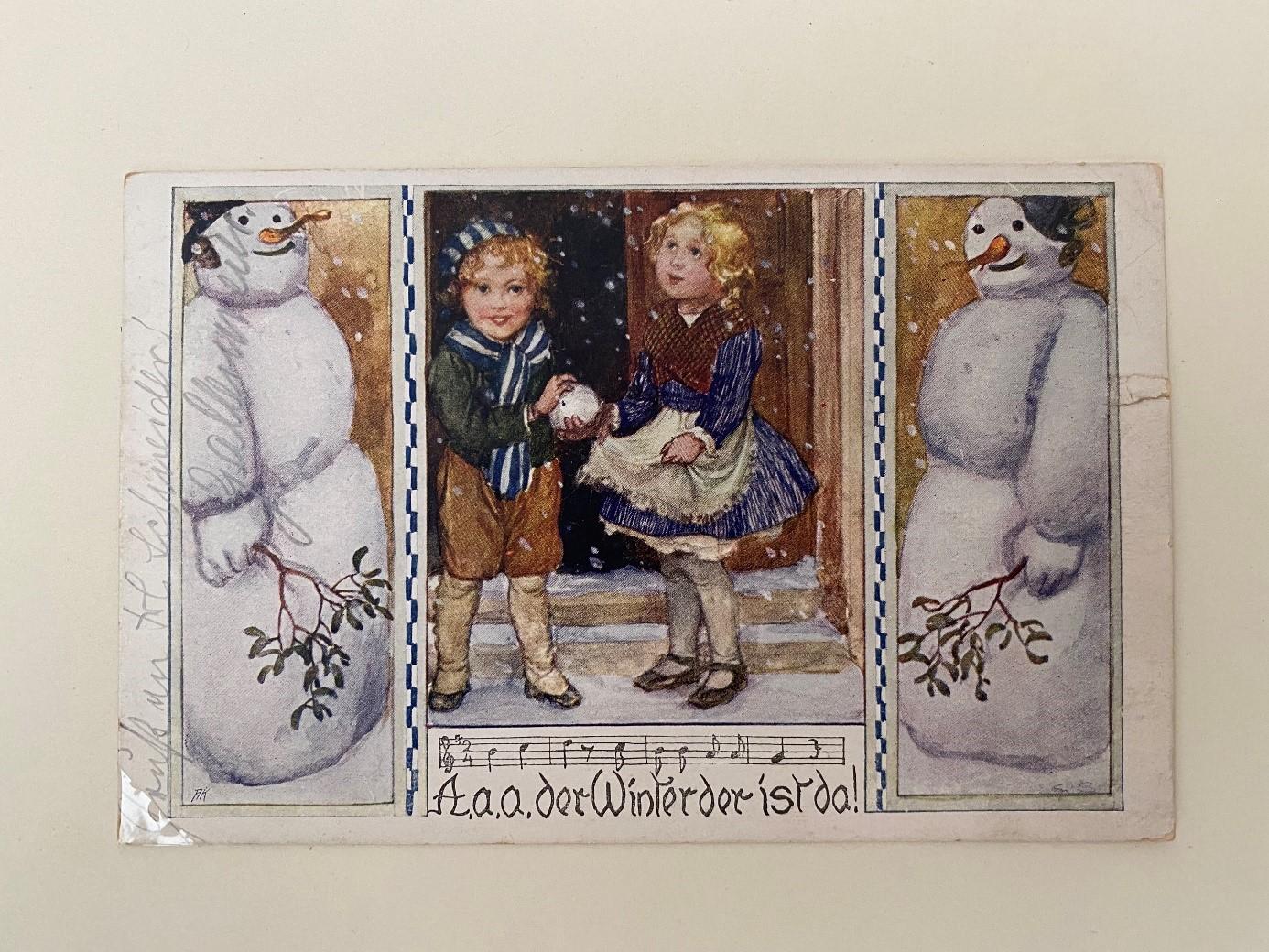 """""""Winter ade..."""" (Sammlung Cornelius Grätz)"""