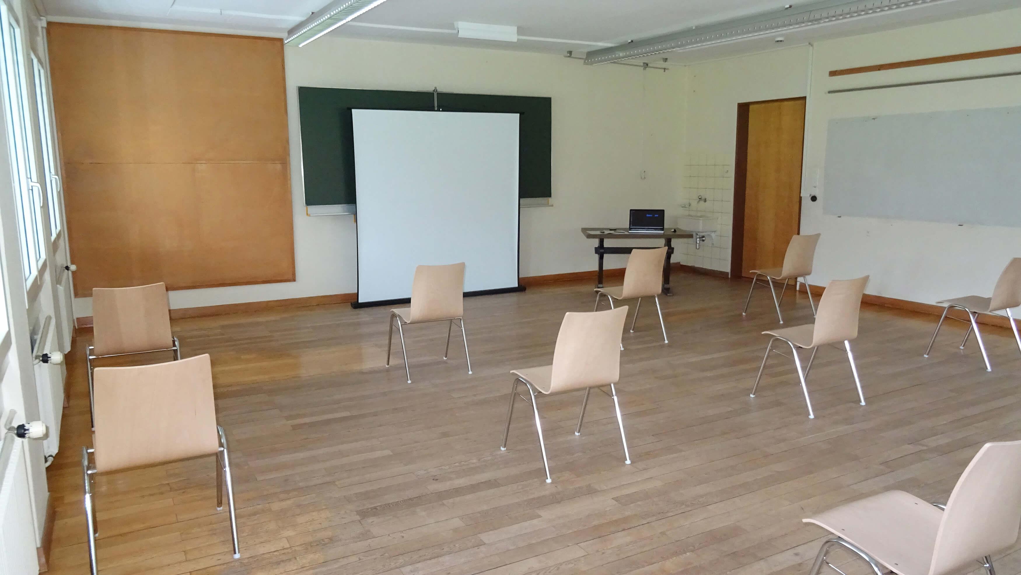 Ausstellungsraum Dorfhaus Schwenden