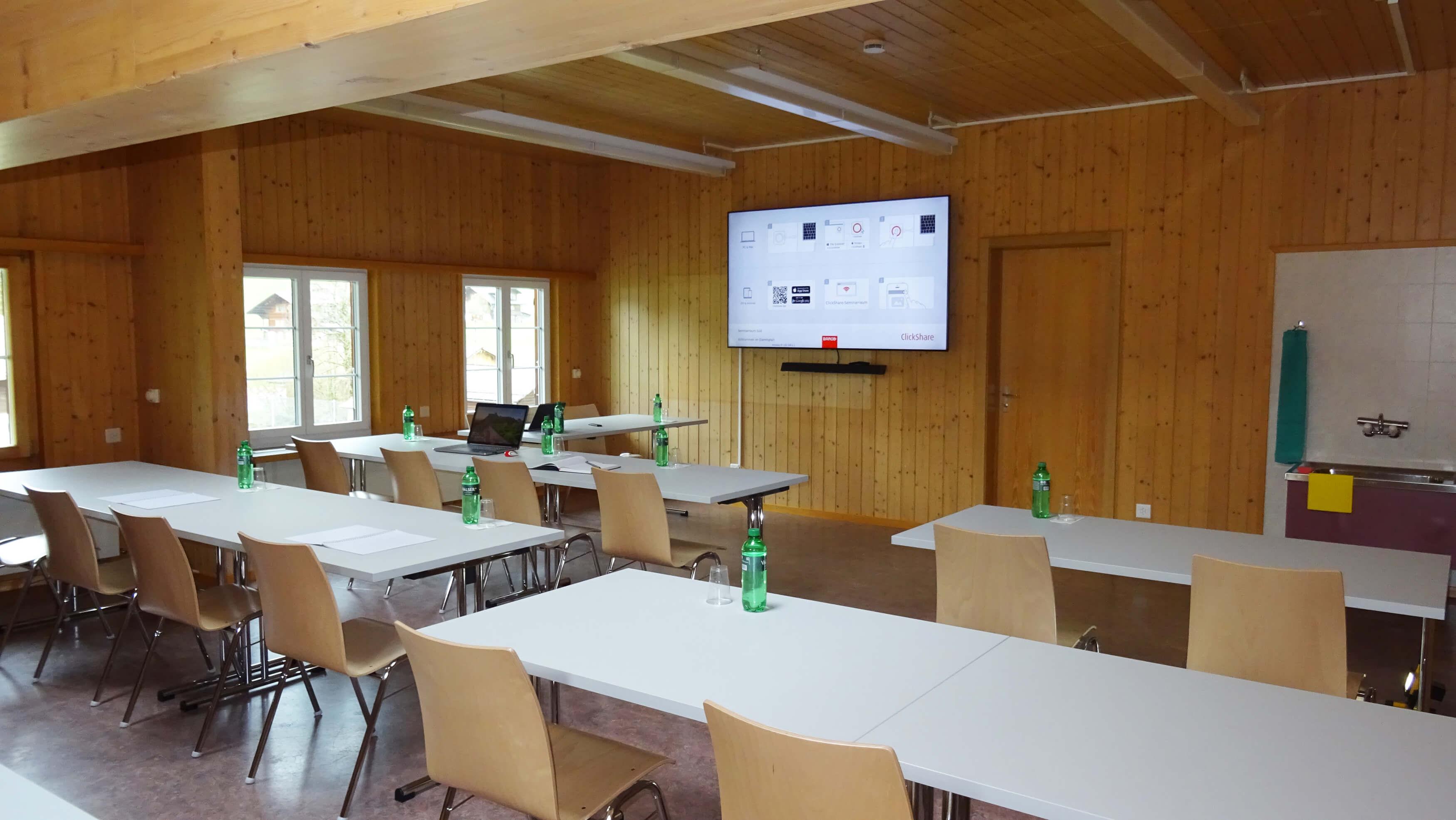 Seminarraum Süd, Dorfhaus Schwenden