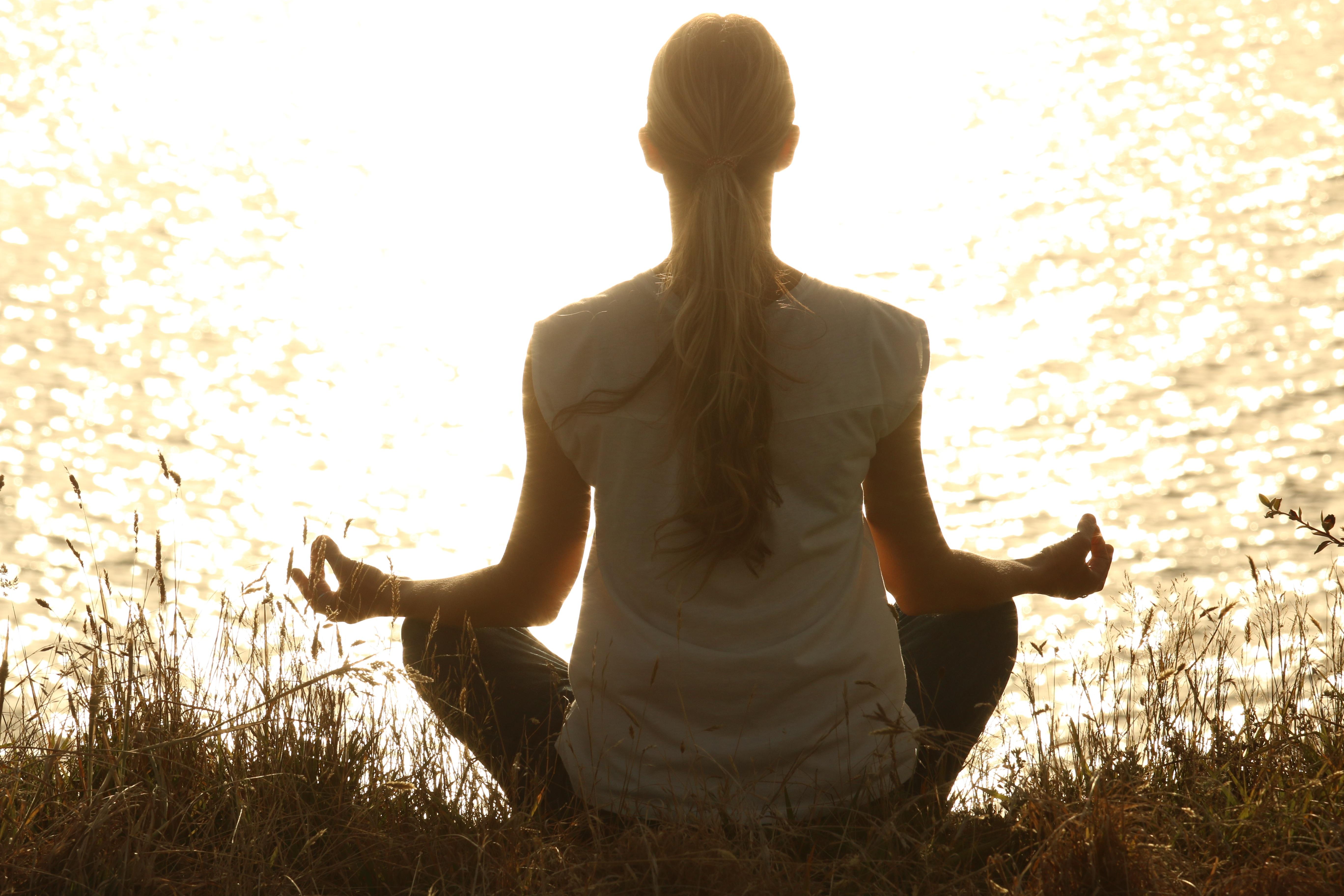 Yoga-Kurs am Meer