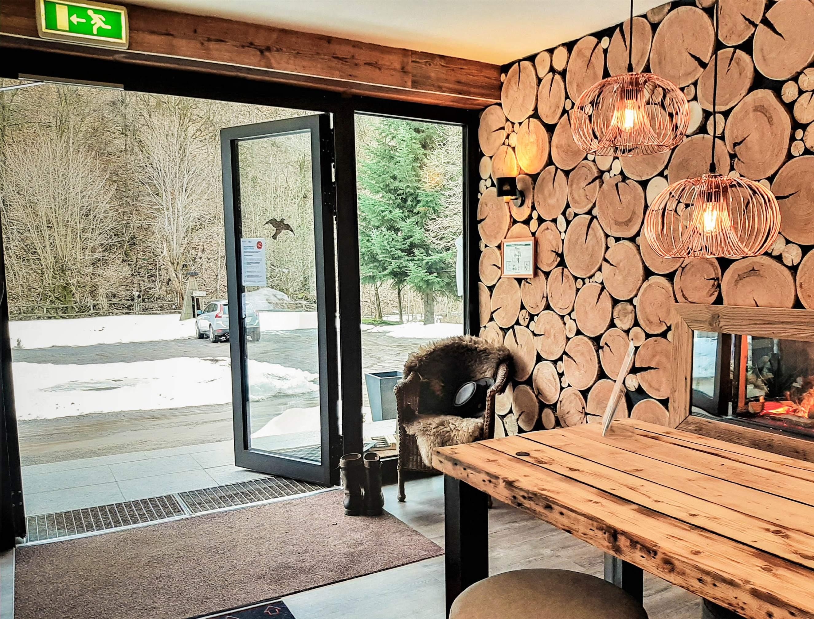 Harzhotel Haus Iris in Herzberg OT Sieber - Eingang